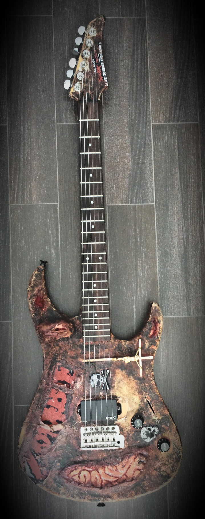 guitare electrique custom