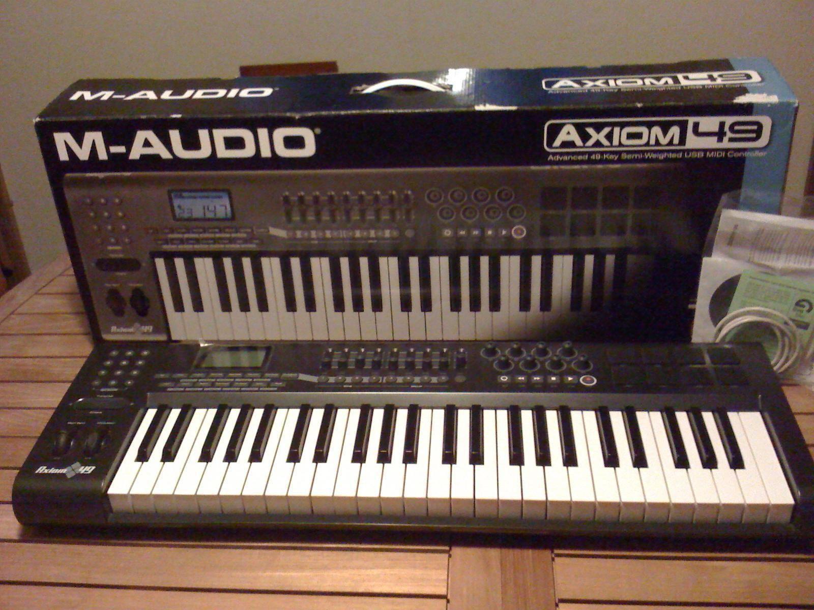 M-audio Axiom Pro 49 Driver Download
