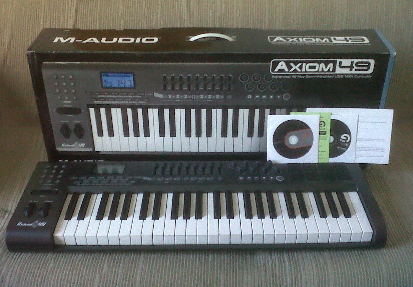 m audio axiom 49 image 327739 audiofanzine rh en audiofanzine com m-audio axiom 49 user manual Axiom 52