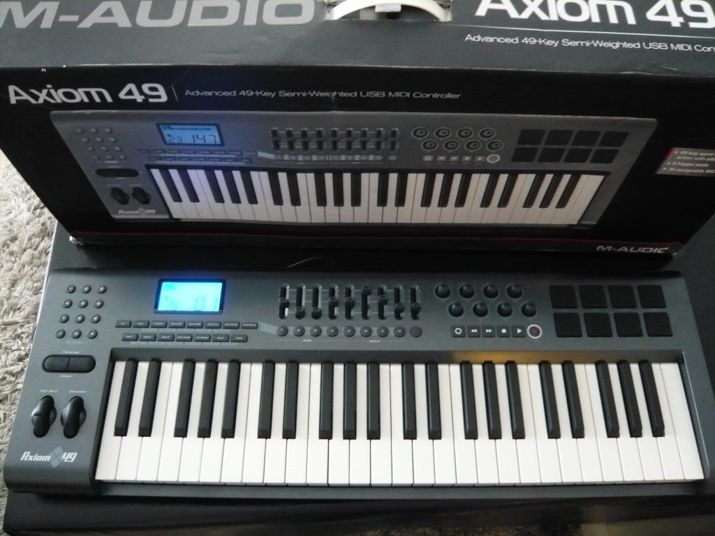 m audio axiom 49 image 595424 audiofanzine rh en audiofanzine com m-audio axiom 49 user manual Axiom 25