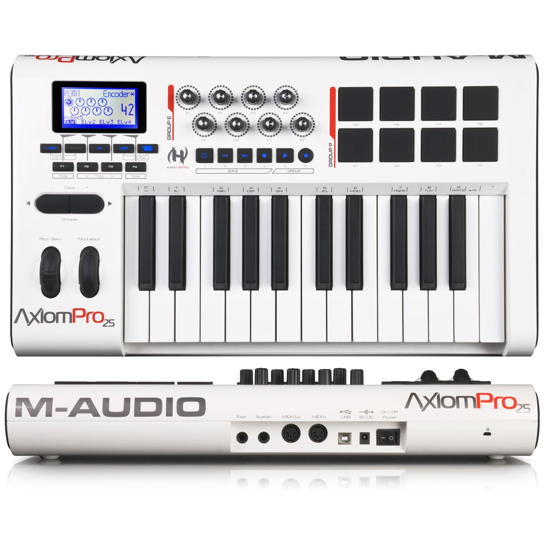 m audio axiom pro 25 image 419559 audiofanzine rh en audiofanzine com M-Audio Keystation 61 m-audio axiom pro 25 user manual