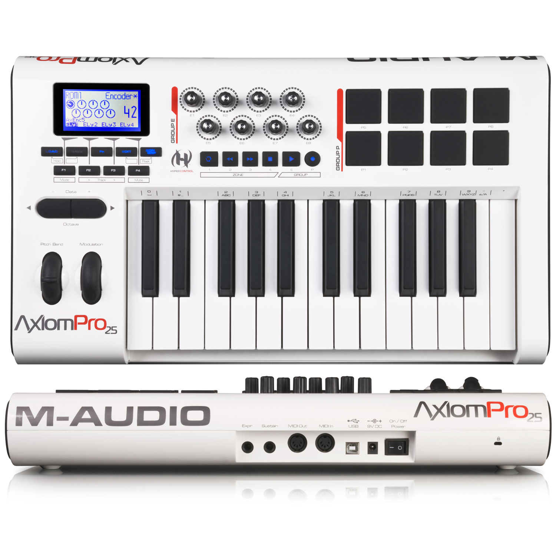 m audio axiom pro 25 image 619794 audiofanzine rh en audiofanzine com M-Audio Keystation 61 M-Audio Axiom 25 Keyboard