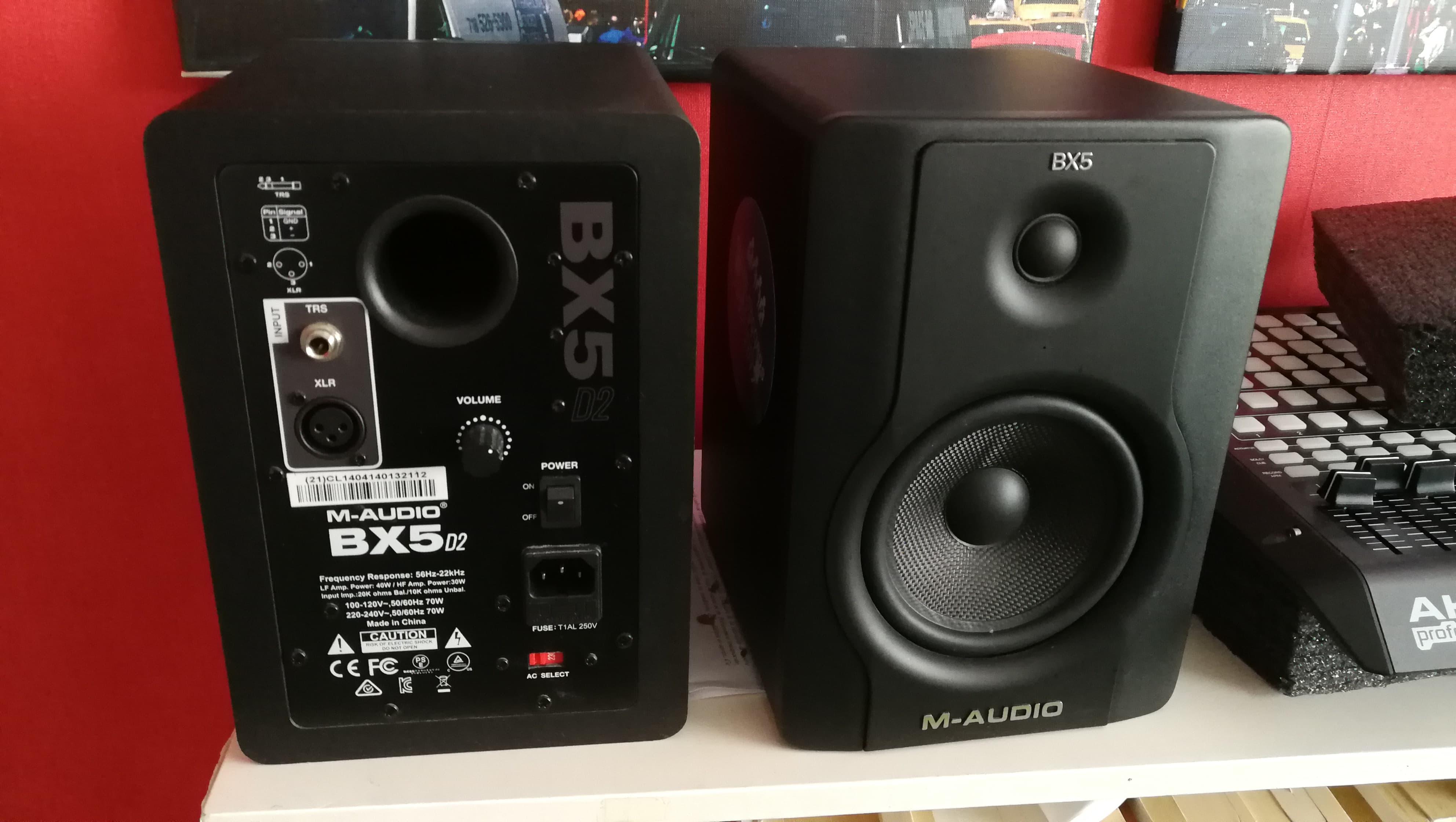 BX5 D2 - M-Audio BX5 D2 - Audiofanzine.