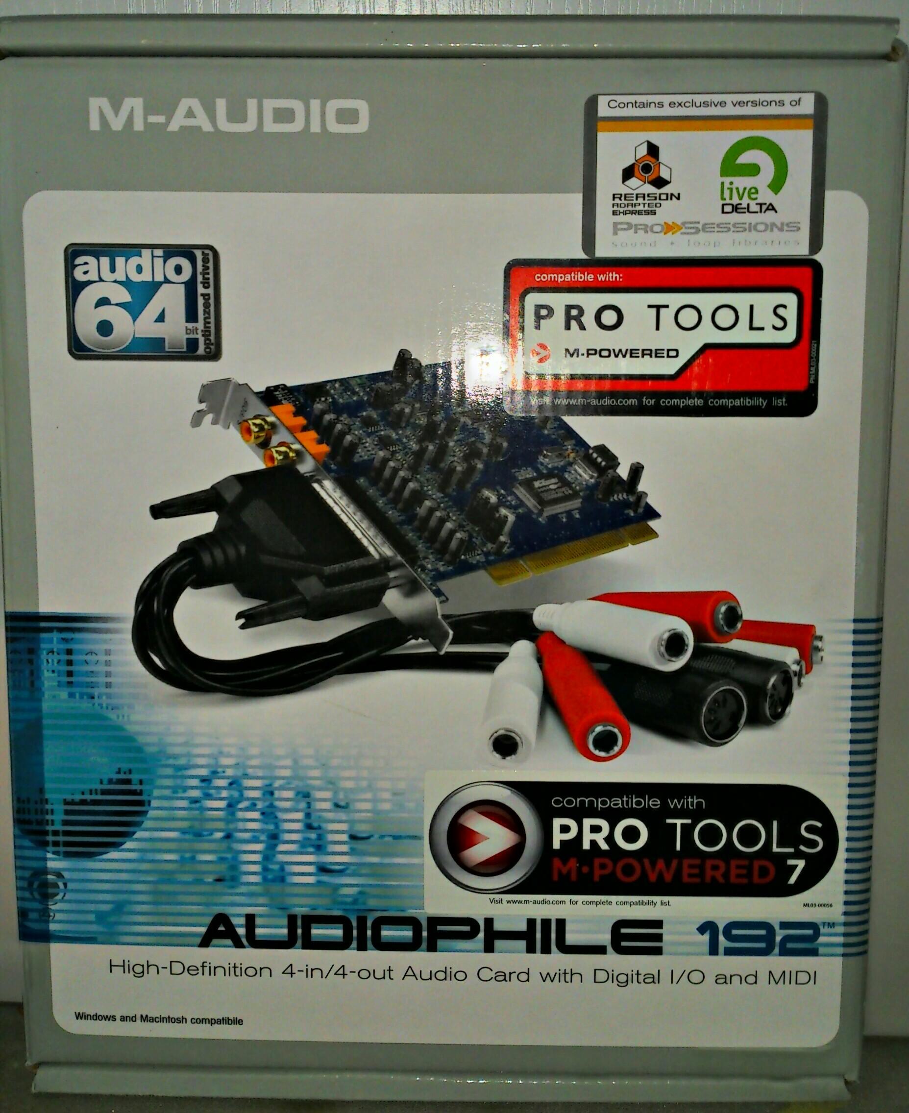 M Audio Audiophile 192 : m audio delta audiophile 192 image 432369 audiofanzine ~ Hamham.info Haus und Dekorationen