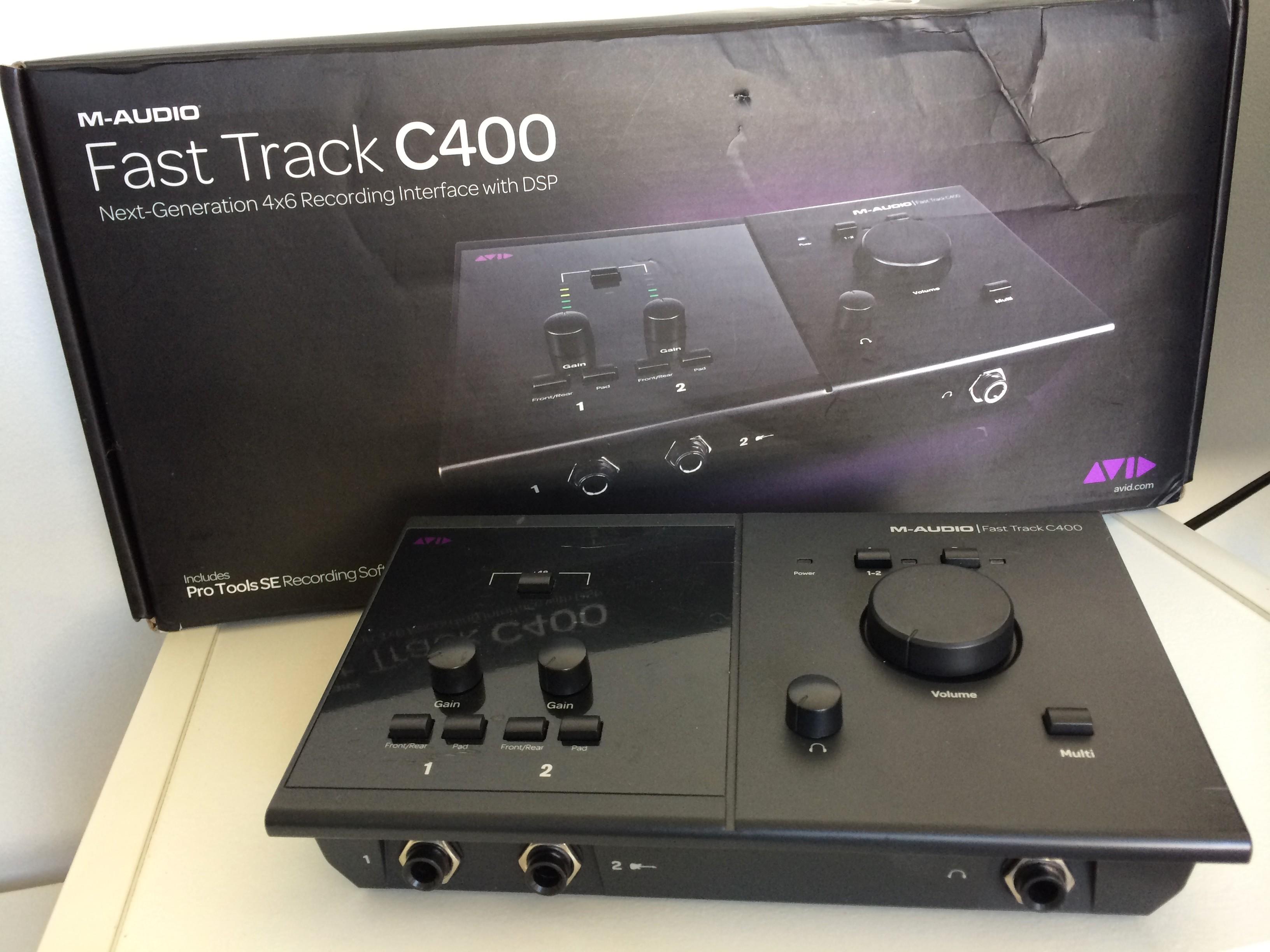 m-audio fast track c400 drivers windows 7