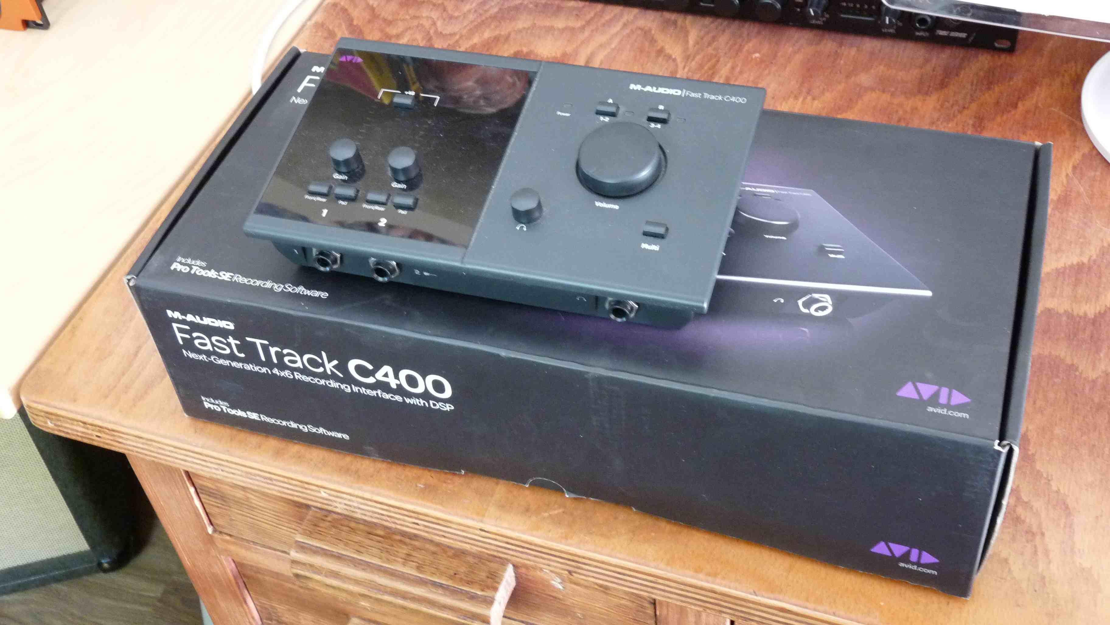 m audio fast track c400 image 868200 audiofanzine rh en audiofanzine com Avid Fast Track C400 Images Fast Track C400 Installer