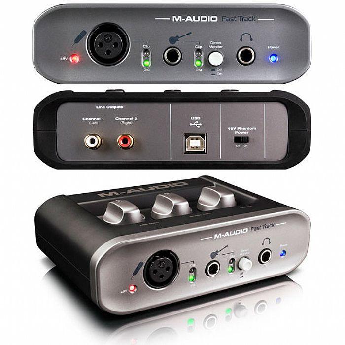 M-audio fast track mkii usb audio interface