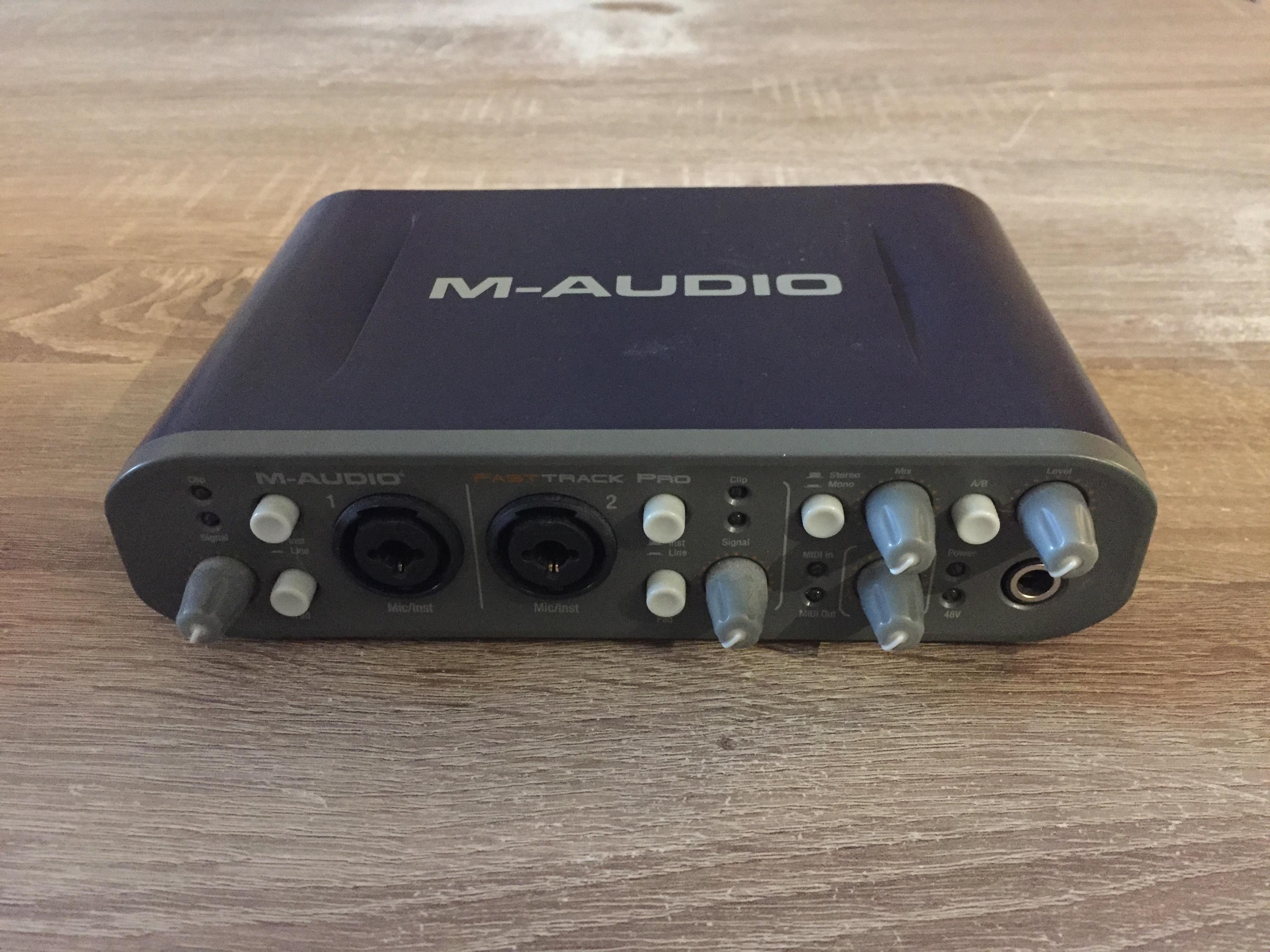 m audio fast track 8r manual