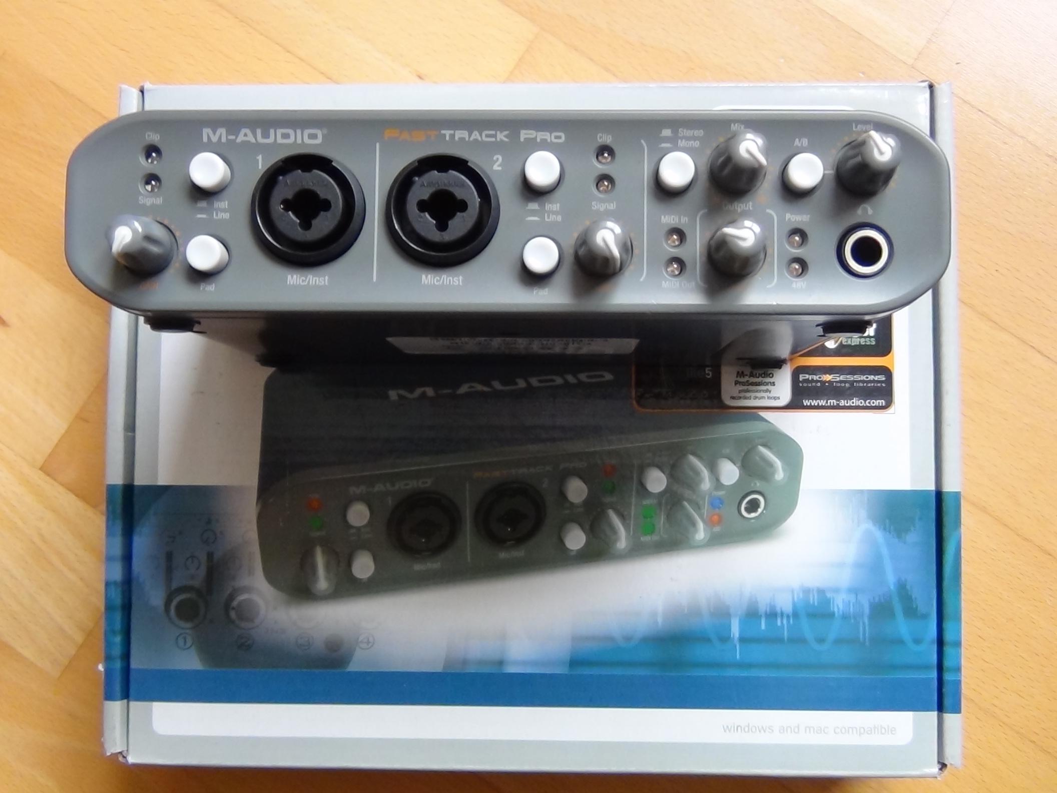 m audio fast track c600 manual