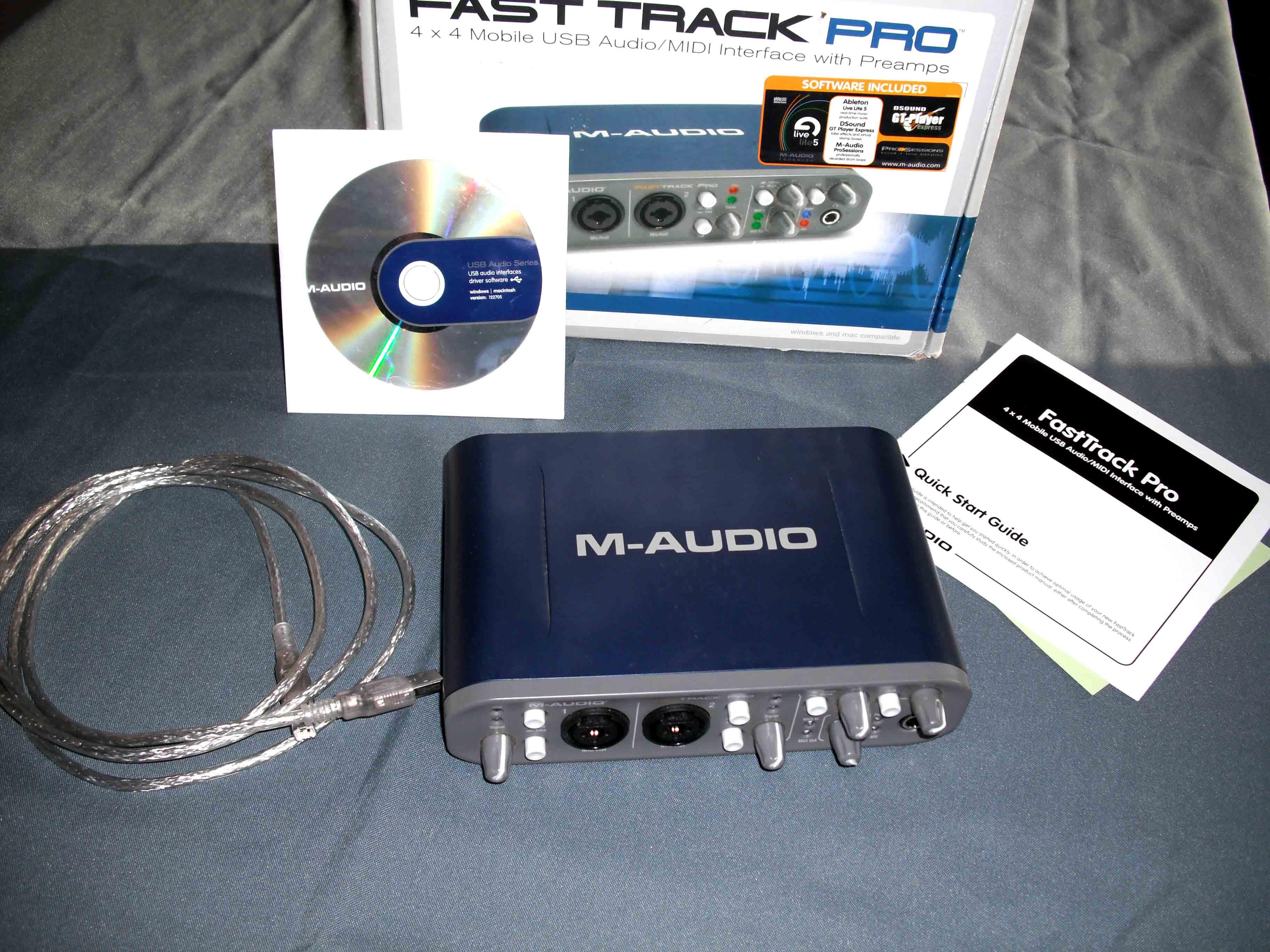 M-audio Fast Track Pro Image   228557