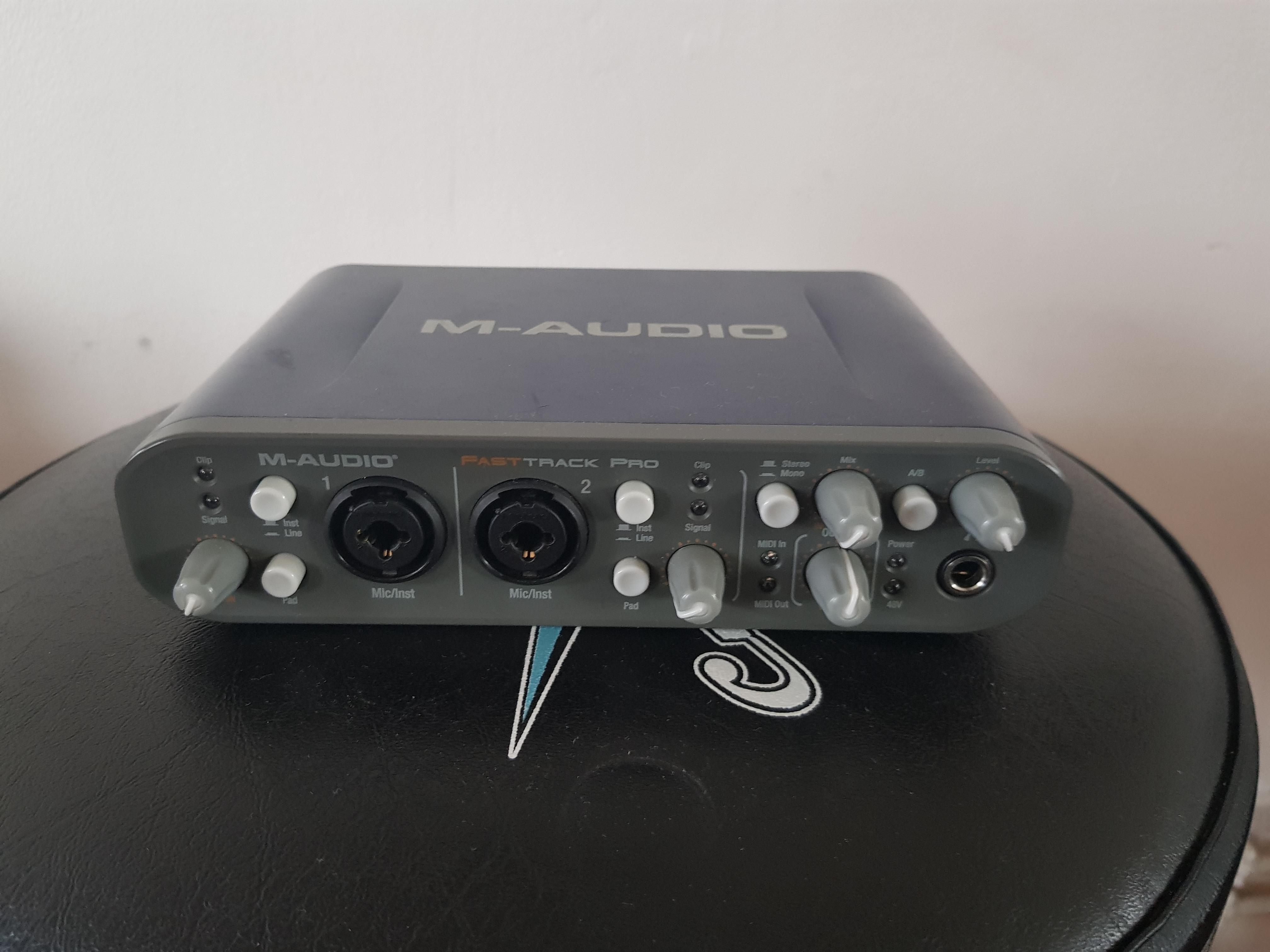 Track asio fast driver pro m-audio