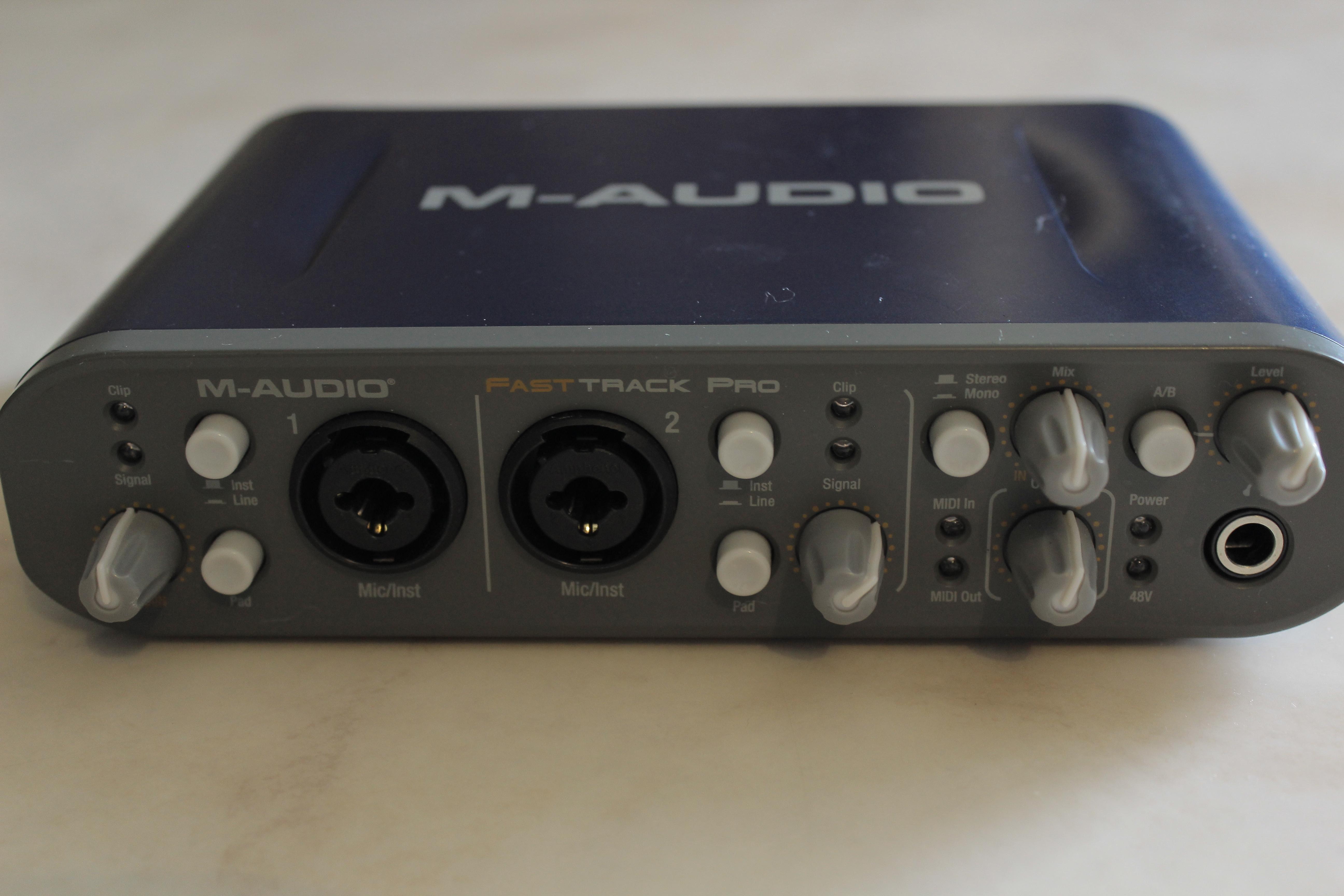 M Audio Fast Track Driver Download Windows