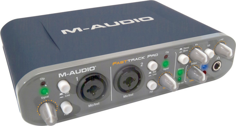 photo m audio fast track pro m audio carte son fast. Black Bedroom Furniture Sets. Home Design Ideas