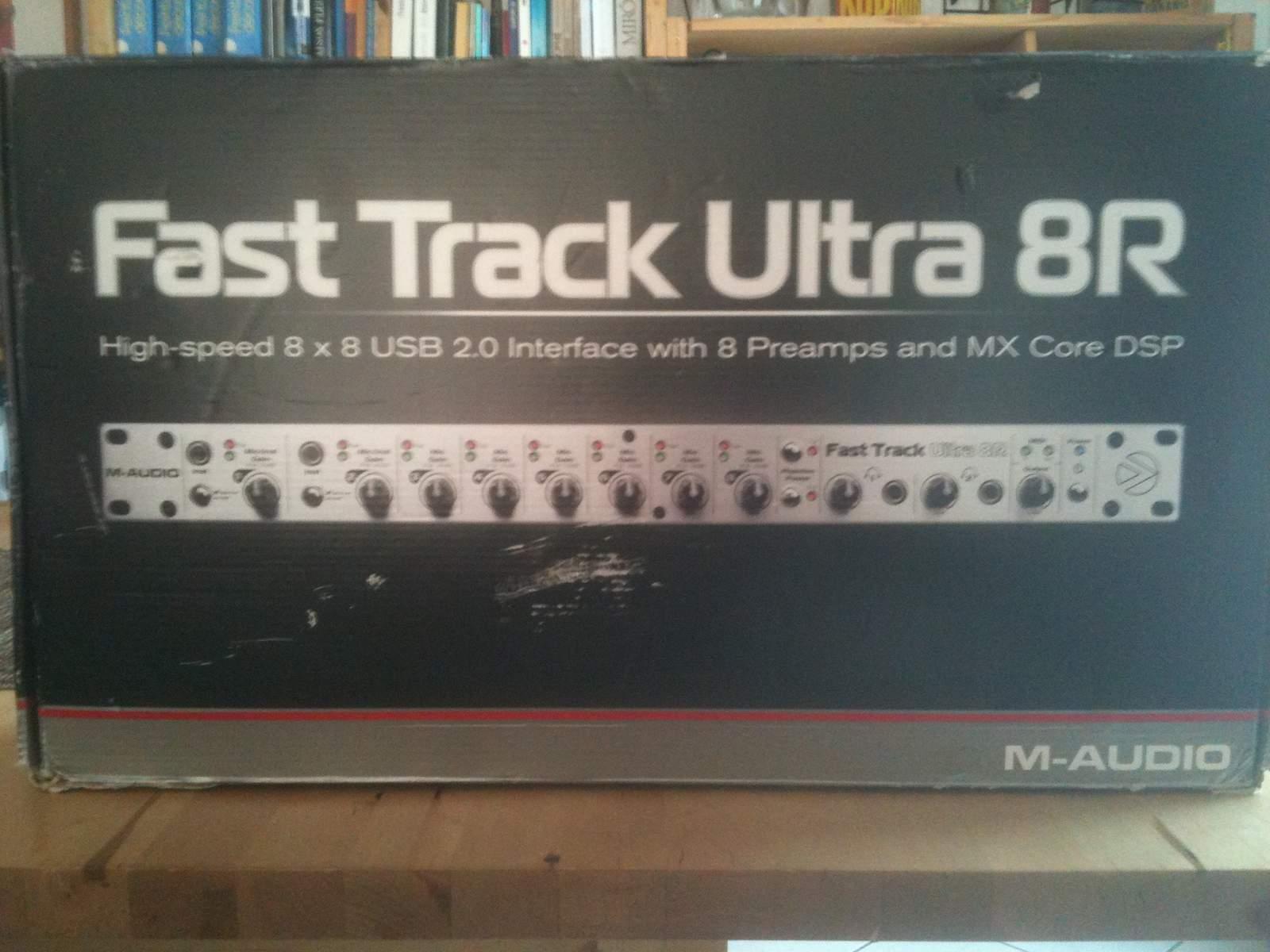 m audio fast track ultra 8r image 186325 audiofanzine. Black Bedroom Furniture Sets. Home Design Ideas
