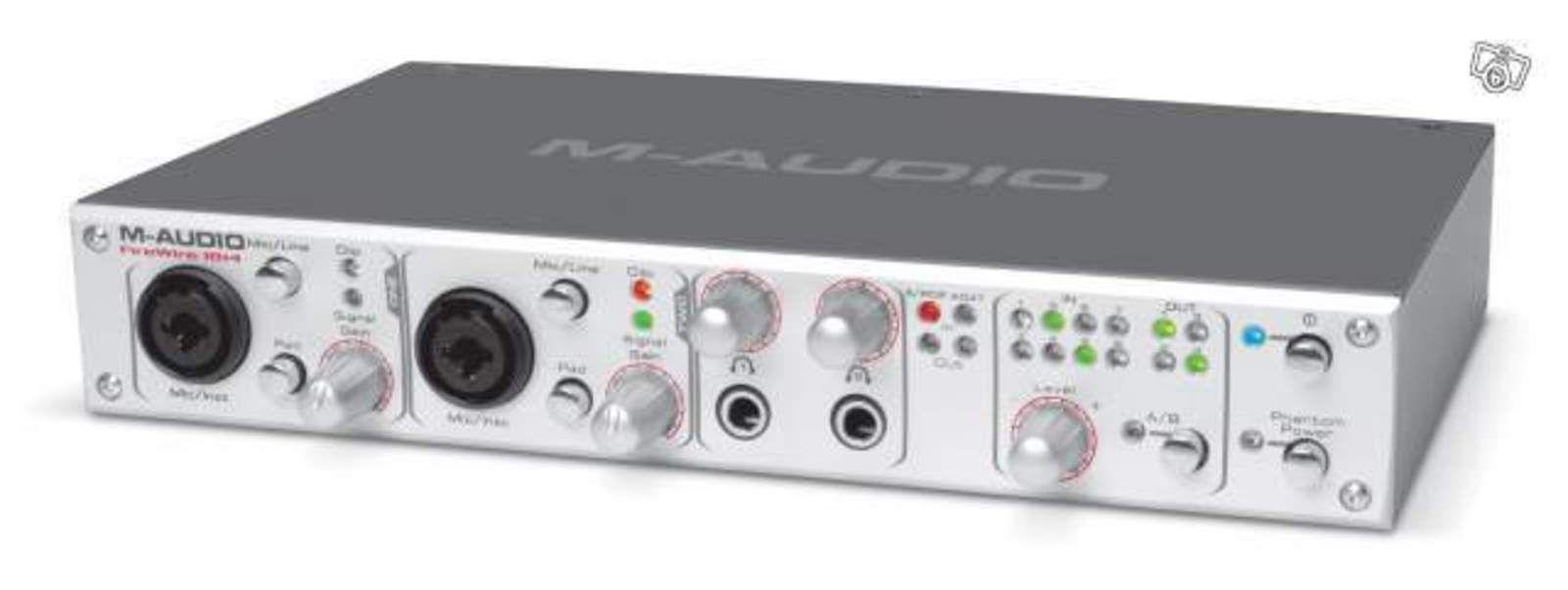 photo m audio firewire 18 14 m audio carte son firewire 1814 42991 audiofanzine