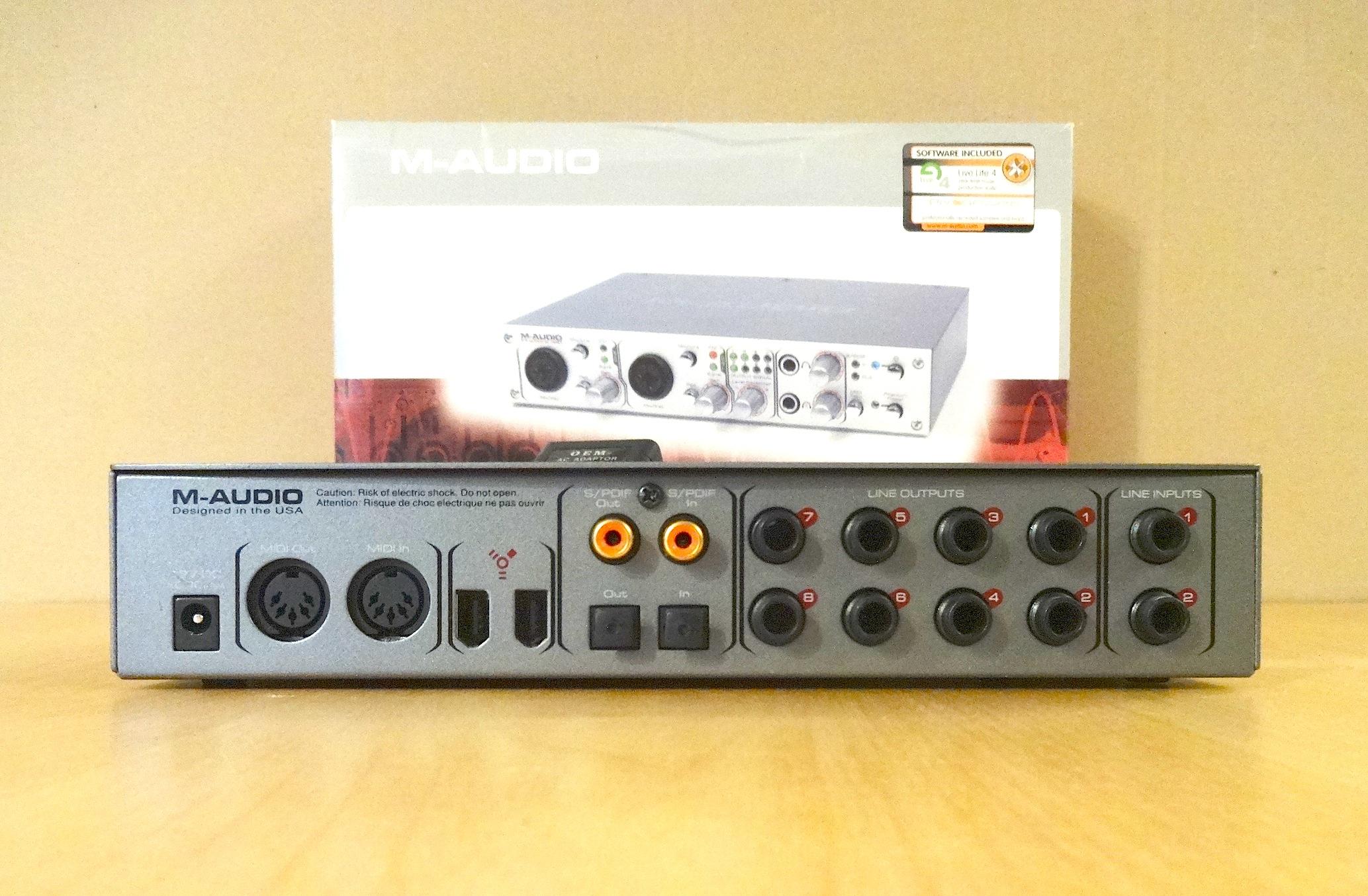 M audio firewire 410 скачать драйвер