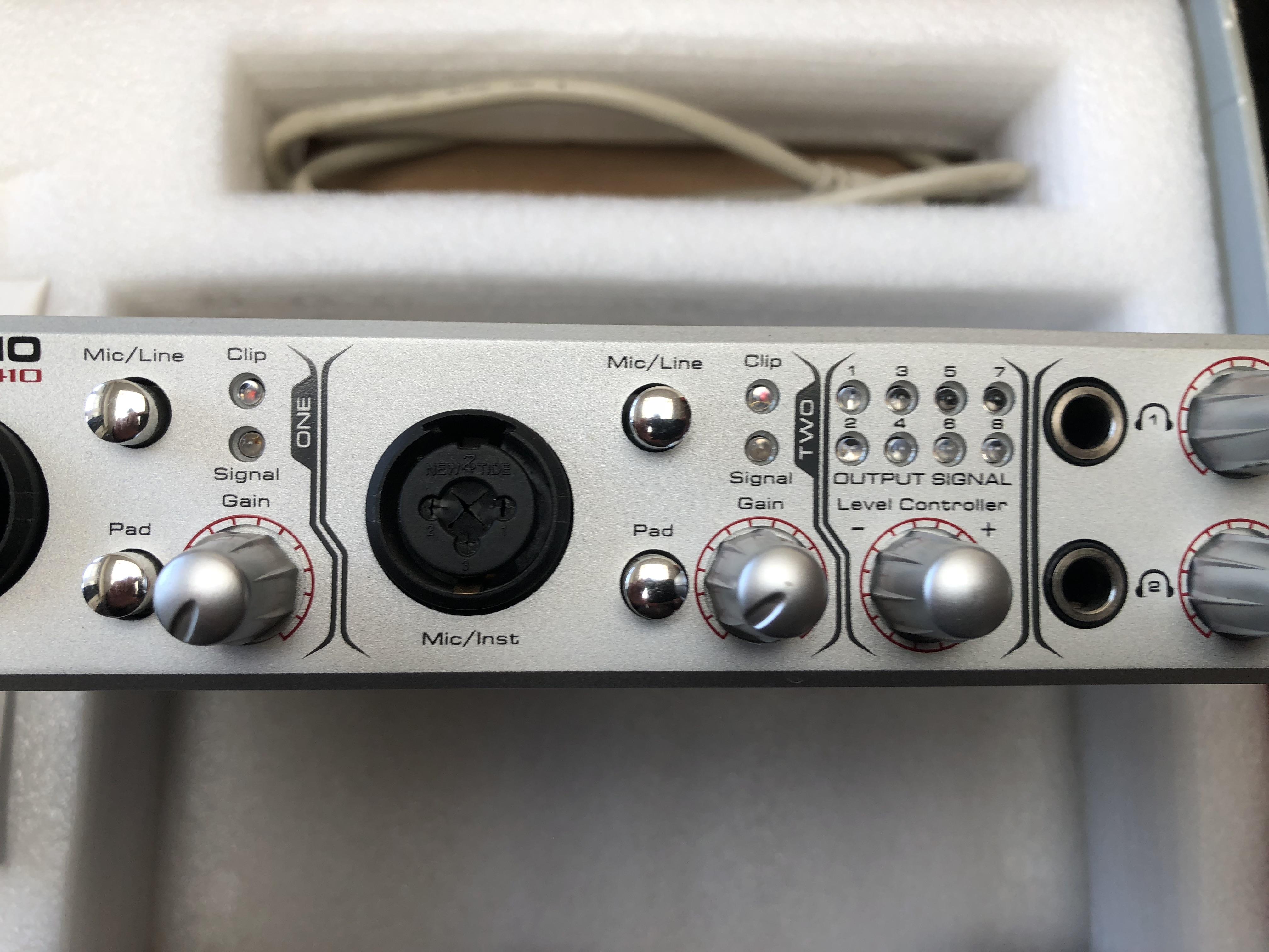 m audio firewire 410 image 2029307 audiofanzine. Black Bedroom Furniture Sets. Home Design Ideas