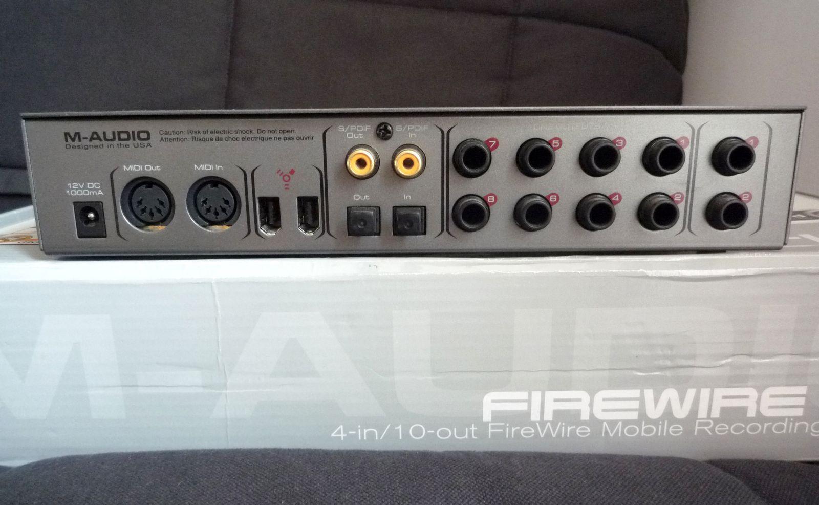 M-Audio Firewire 410 image (#222120) - Audiofanzine