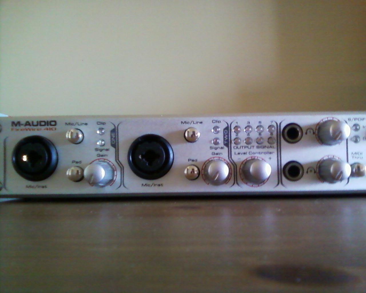 m-audio firewire 410 windows 8 driver