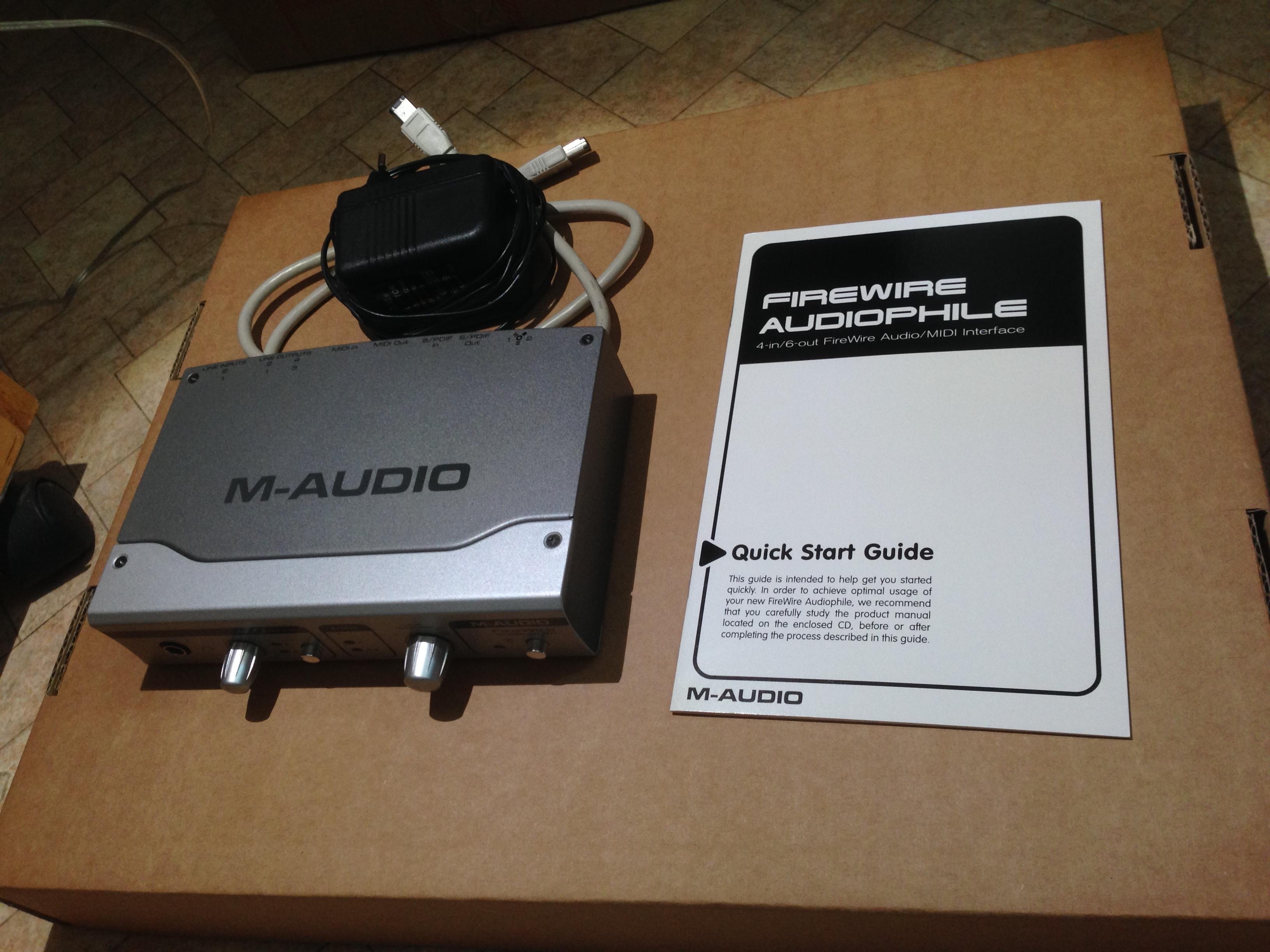 M-Audio Firewire Audiophile image (#1171937) - Audiofanzine