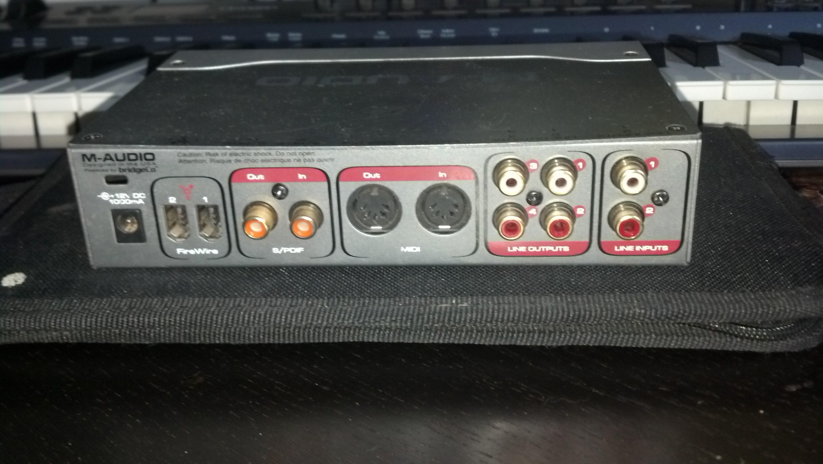 M-Audio Firewire Audiophile image (#612556) - Audiofanzine