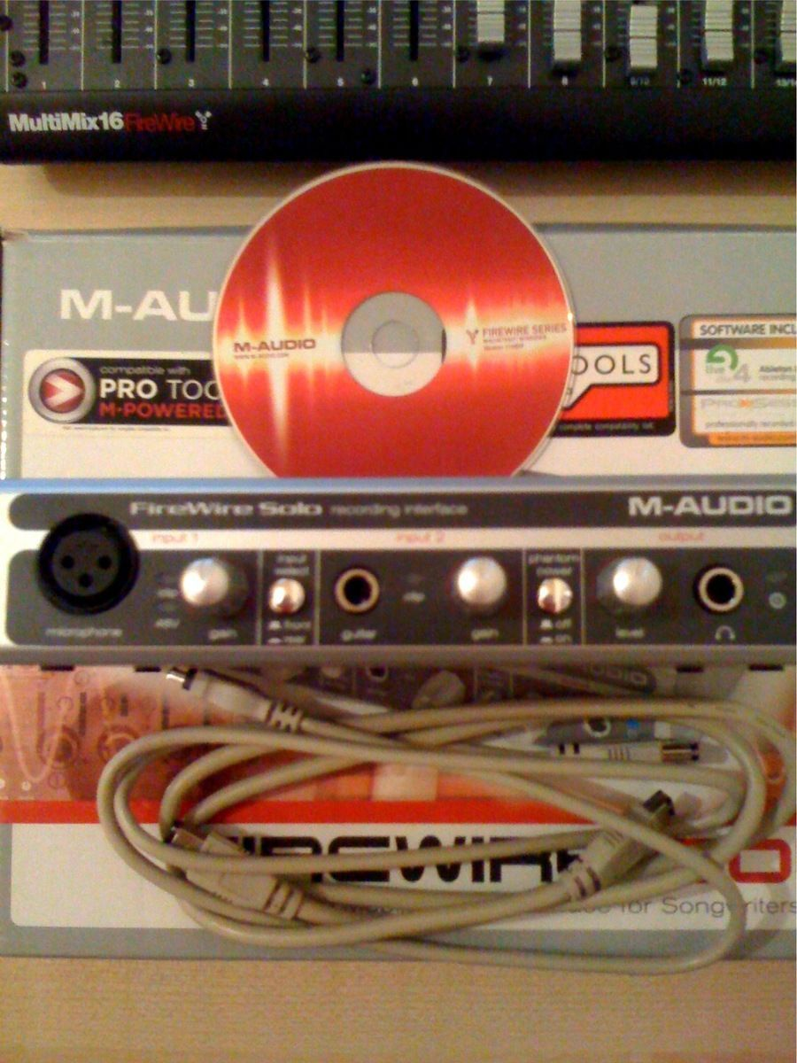 photo m audio firewire solo m audio firewire solo 25116 199858 audiofanzine. Black Bedroom Furniture Sets. Home Design Ideas