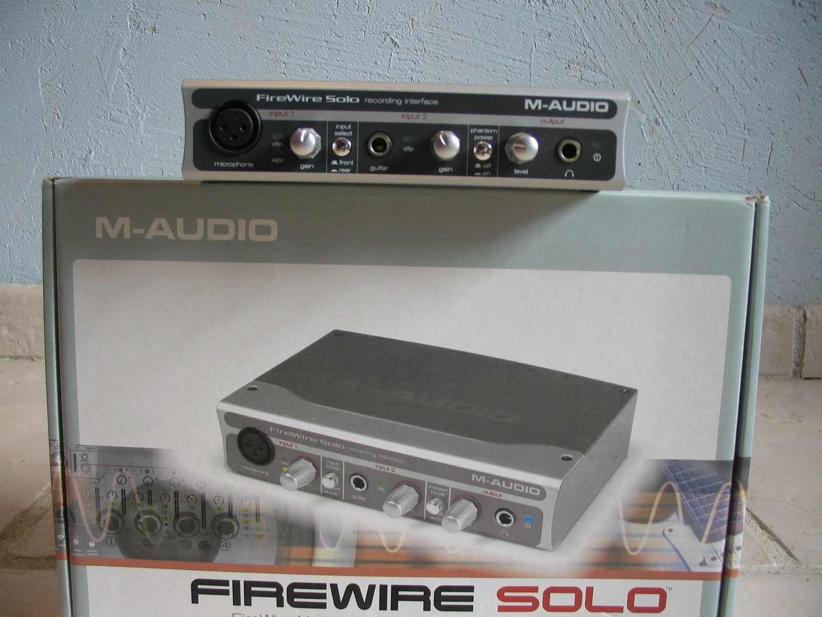 photo m audio firewire solo m audio firewire solo 71752 21931 audiofanzine. Black Bedroom Furniture Sets. Home Design Ideas