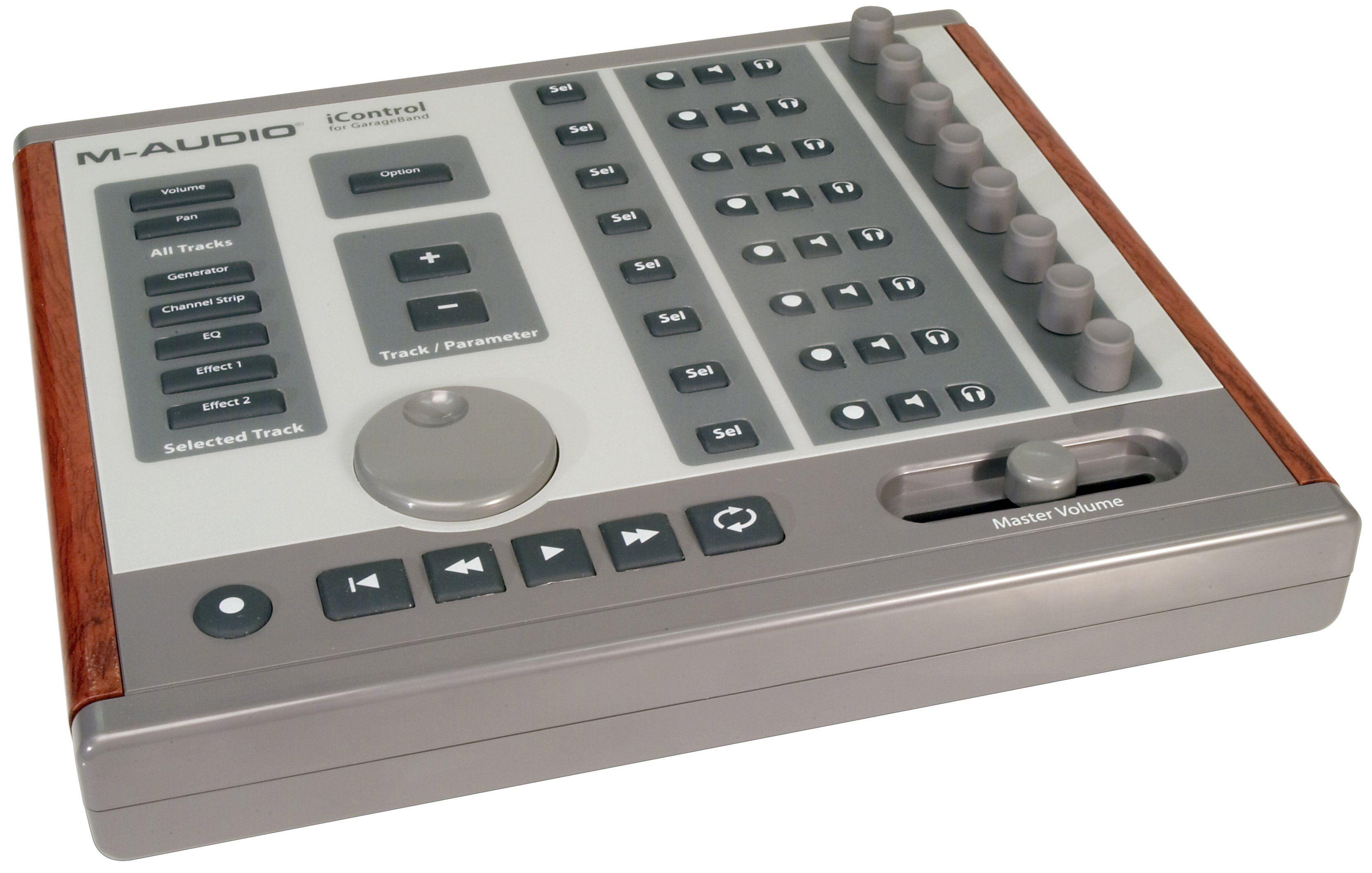 icontrol m audio icontrol audiofanzine. Black Bedroom Furniture Sets. Home Design Ideas