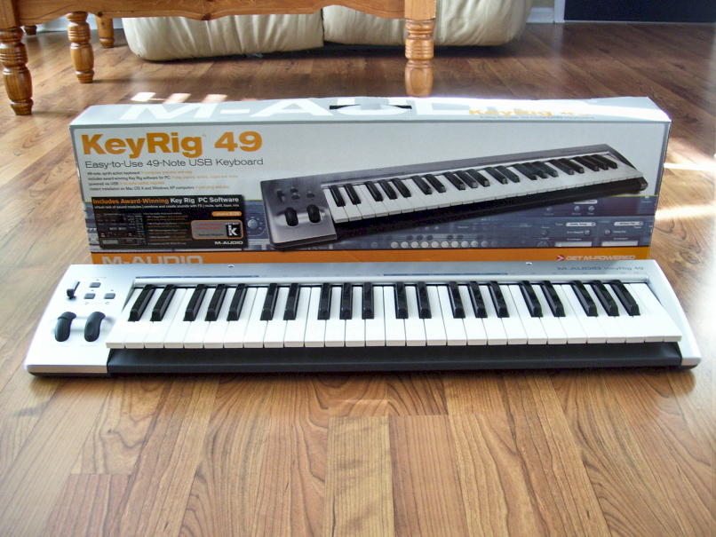 M-Audio KEYRIG KeyRig 49 User Manual