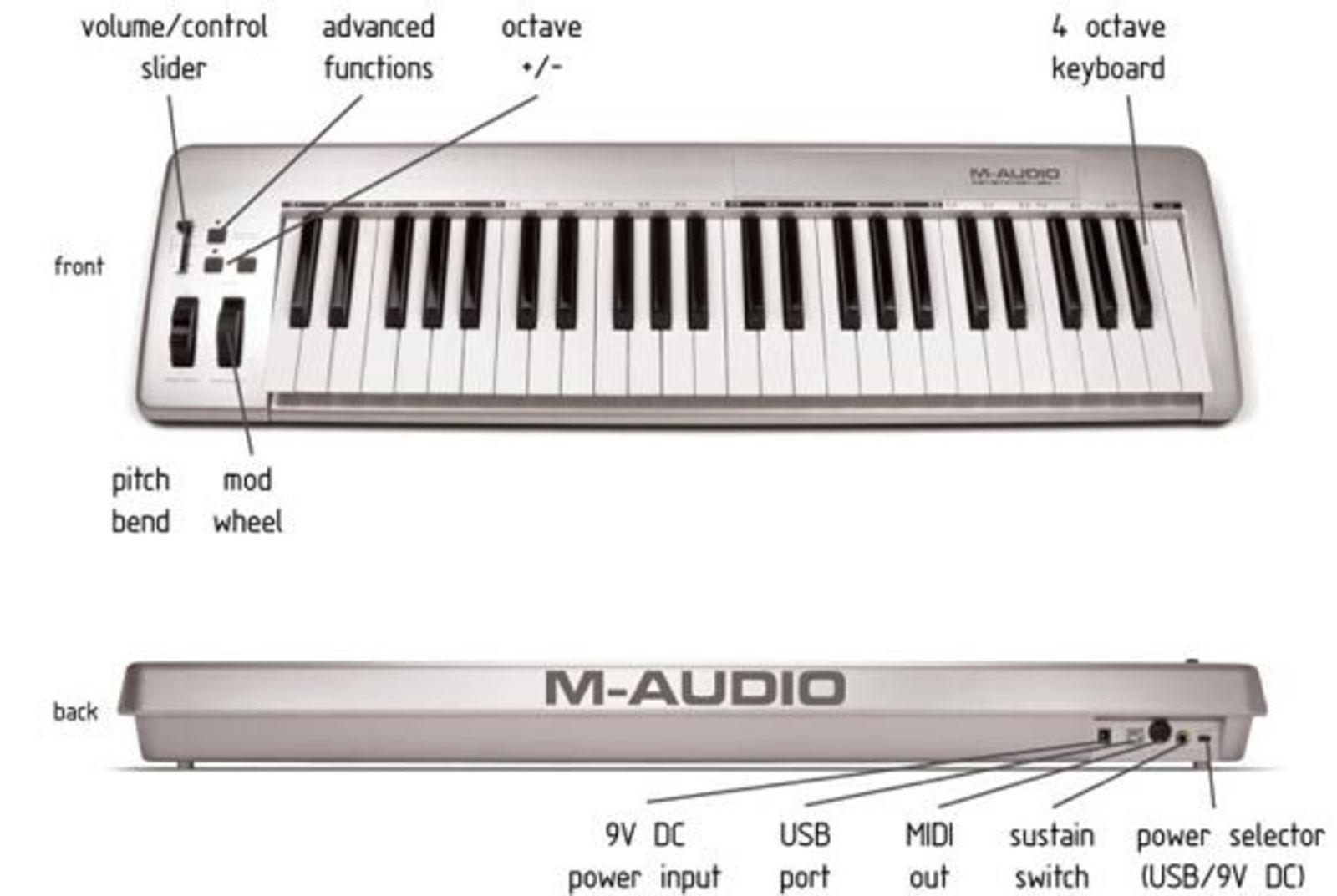 m audio keystation 49e image 15926 audiofanzine rh en audiofanzine com m-audio keystation 49e instruction manual m-audio keystation 49 mkii manual