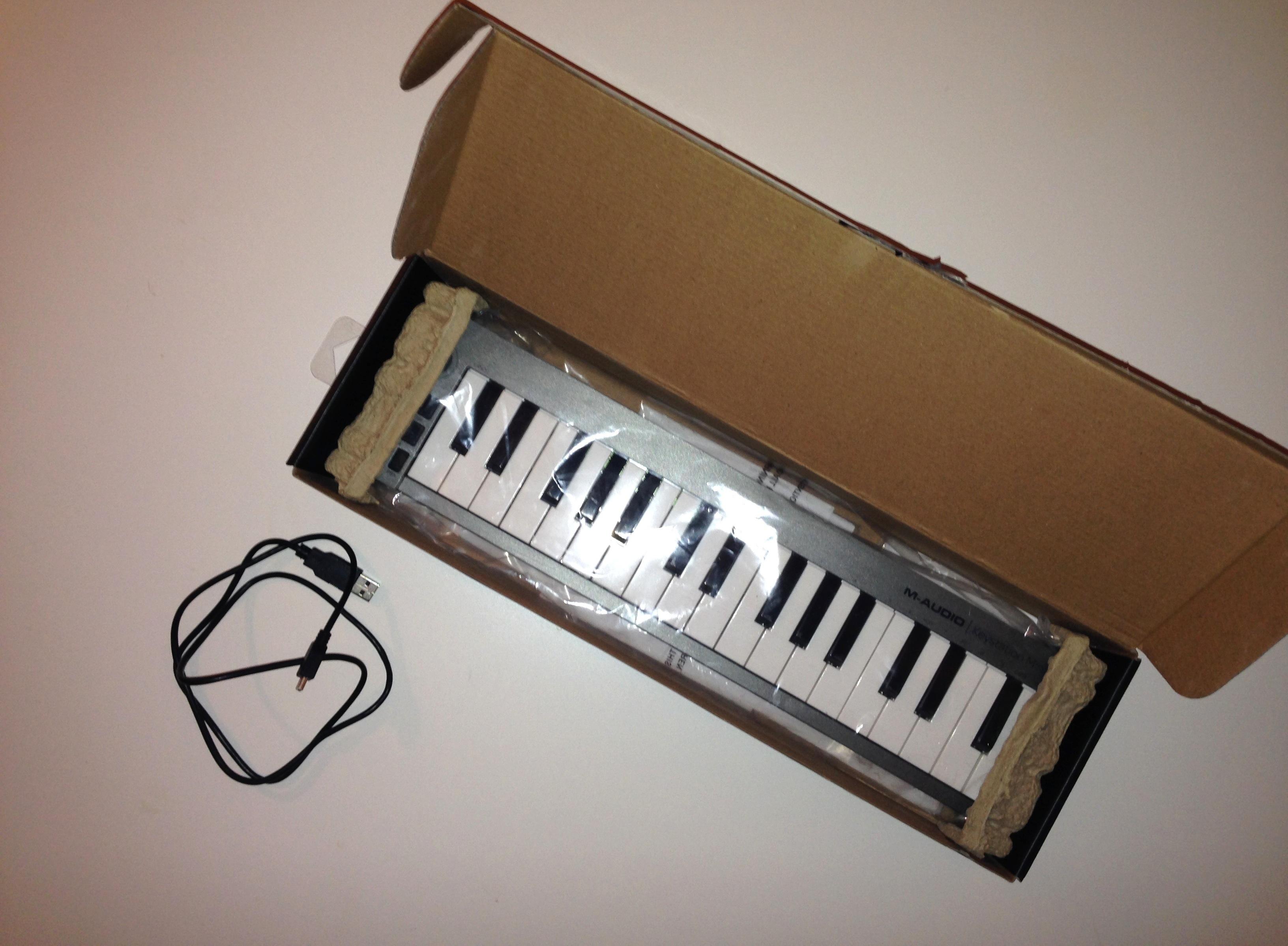 clavier m audio keystation mini 32 ile de france. Black Bedroom Furniture Sets. Home Design Ideas