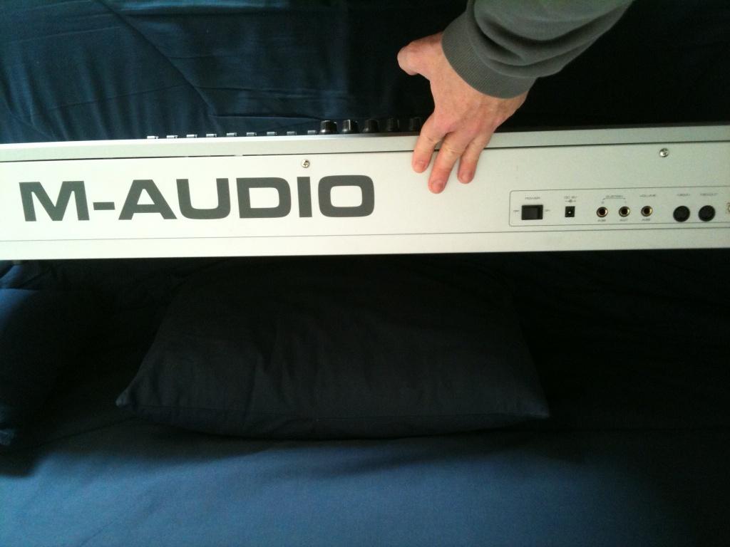 m audio keystation pro 88 image 150179 audiofanzine. Black Bedroom Furniture Sets. Home Design Ideas