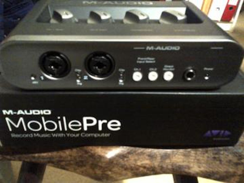 m audio mobilepre image 344280 audiofanzine rh en audiofanzine com M-Audio MobilePre Manual M-Audio MobilePre Software