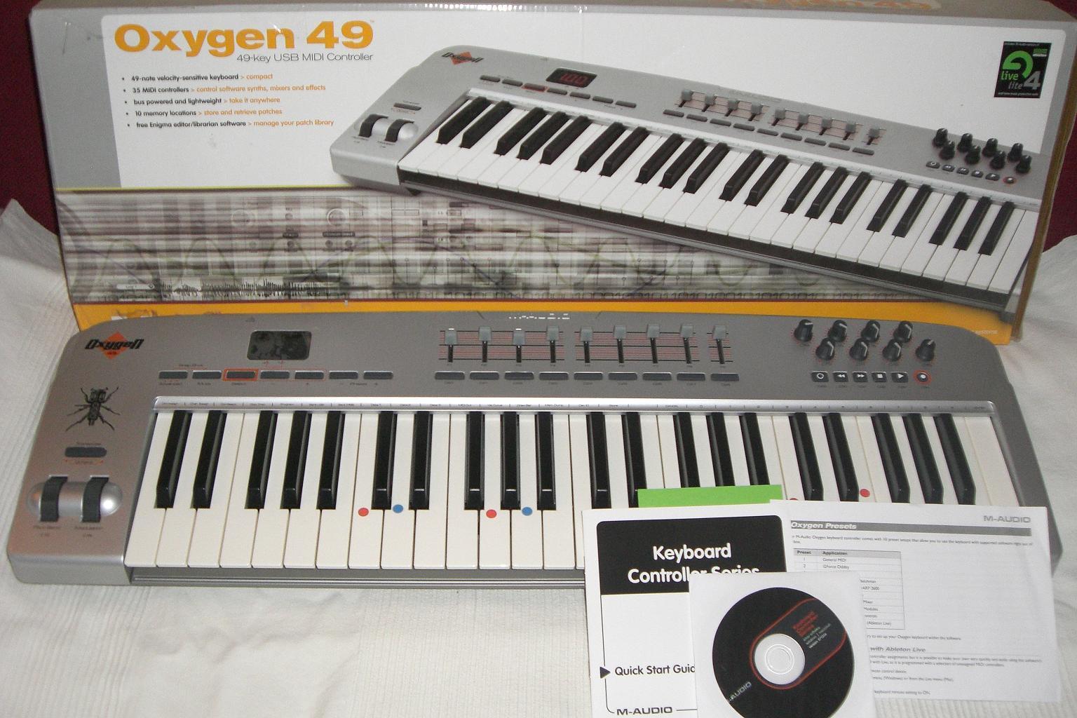 Oxygen 49 driver