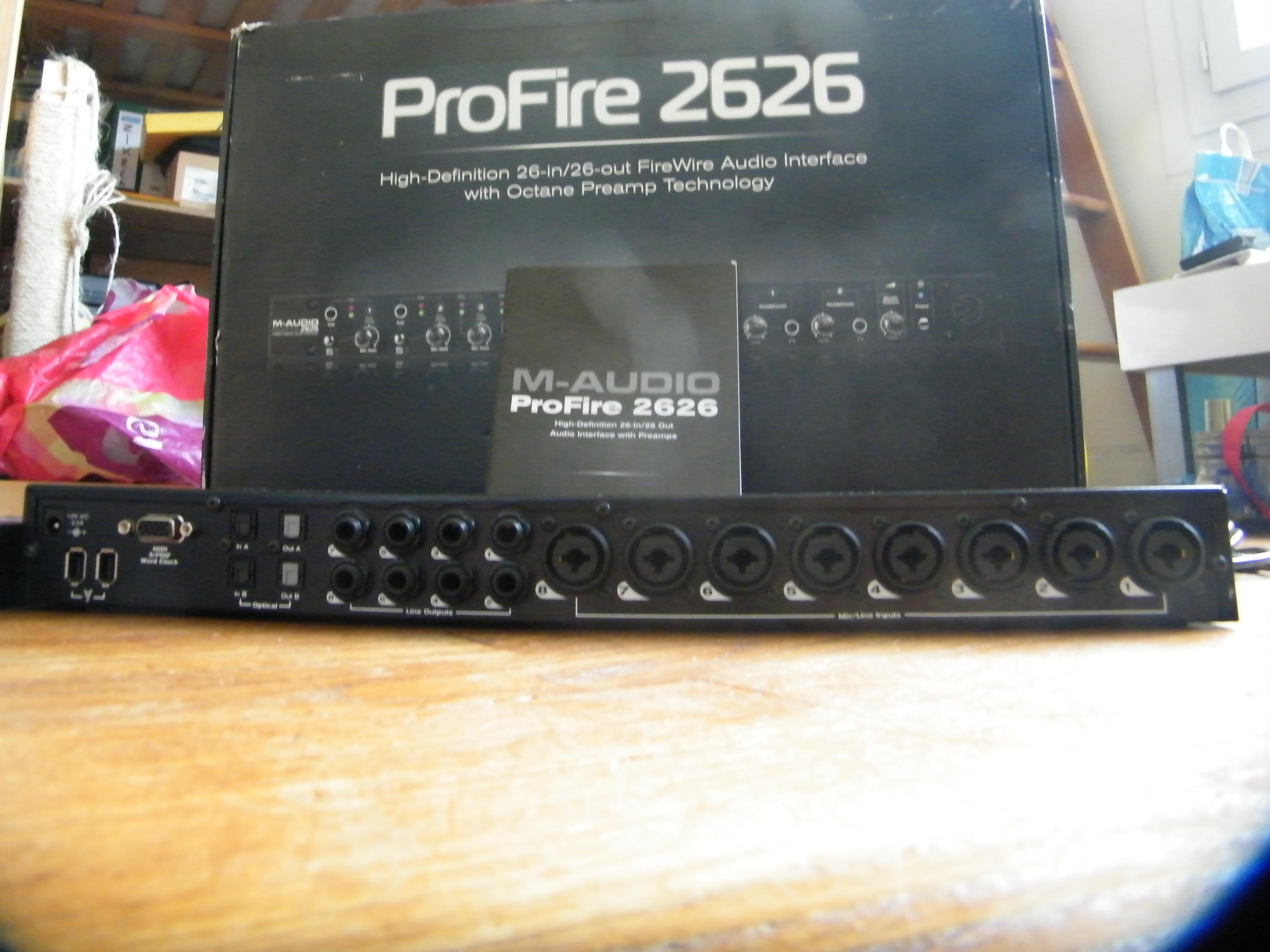 m audio profire 2626 image 741244 audiofanzine. Black Bedroom Furniture Sets. Home Design Ideas