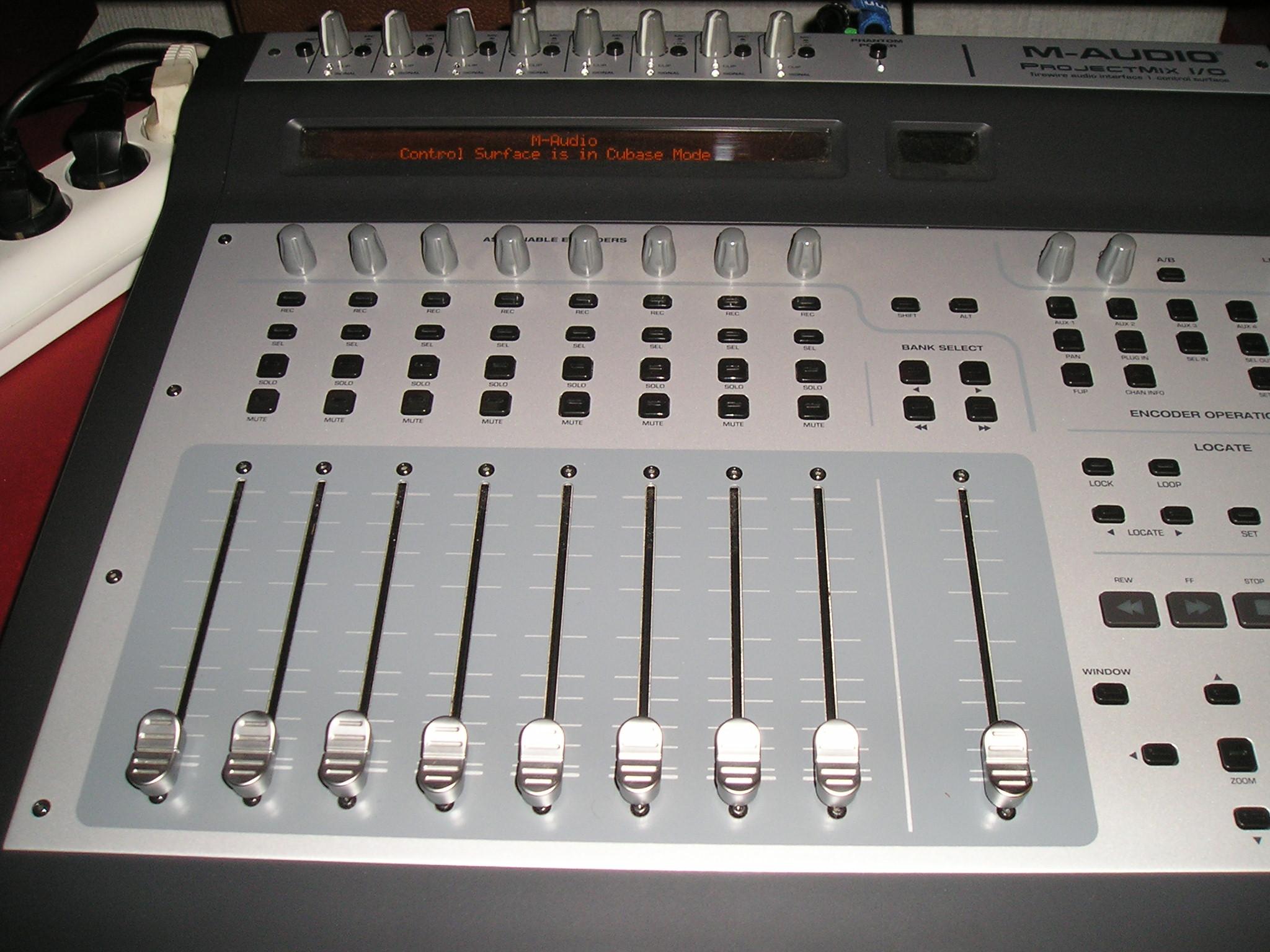 M-Audio ProjectMix I/O User Manual