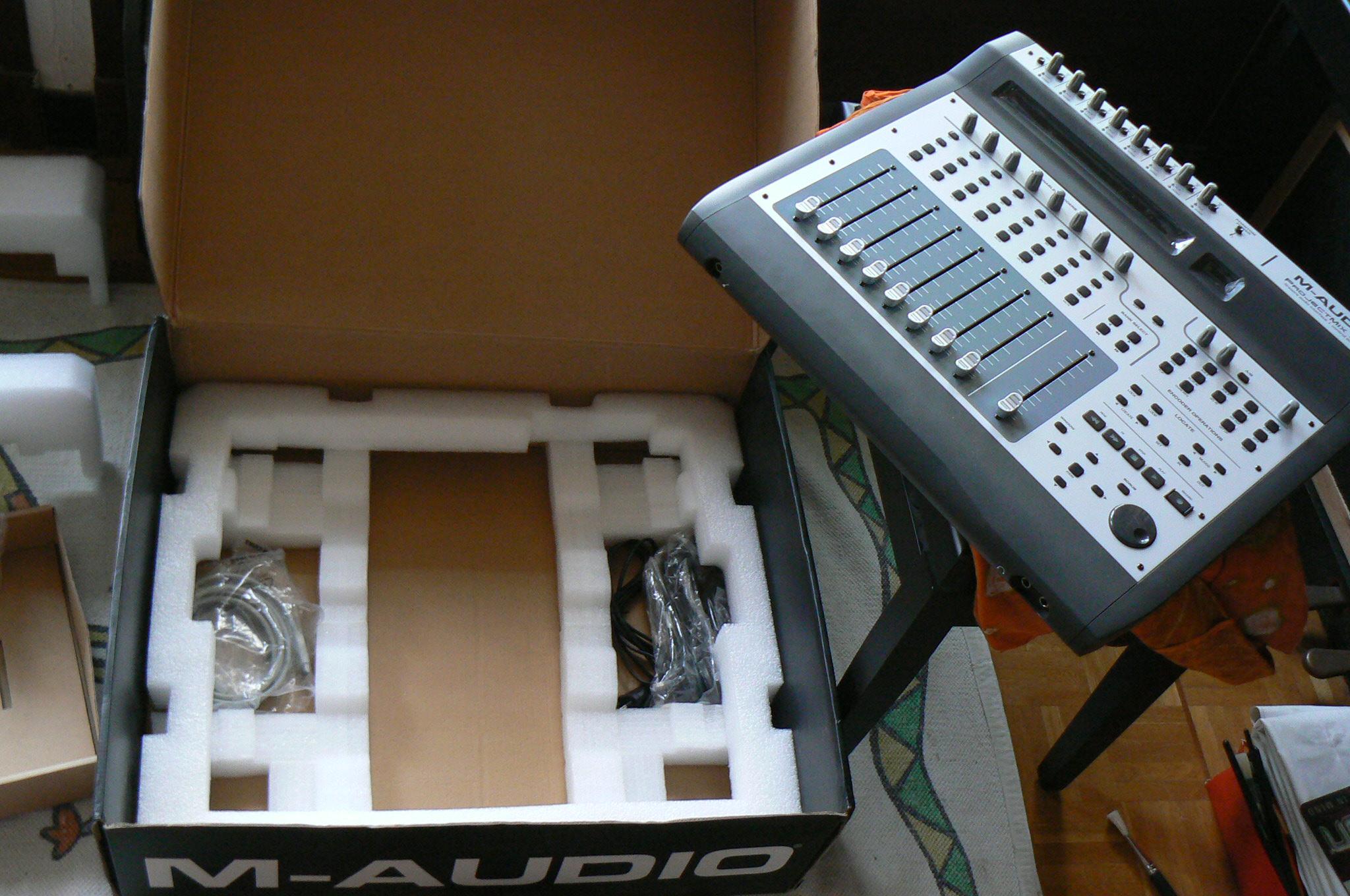 m audio projectmix i o image 517632 audiofanzine rh en audiofanzine com m-audio projectmix i/o user manual m-audio projectmix i/o manual