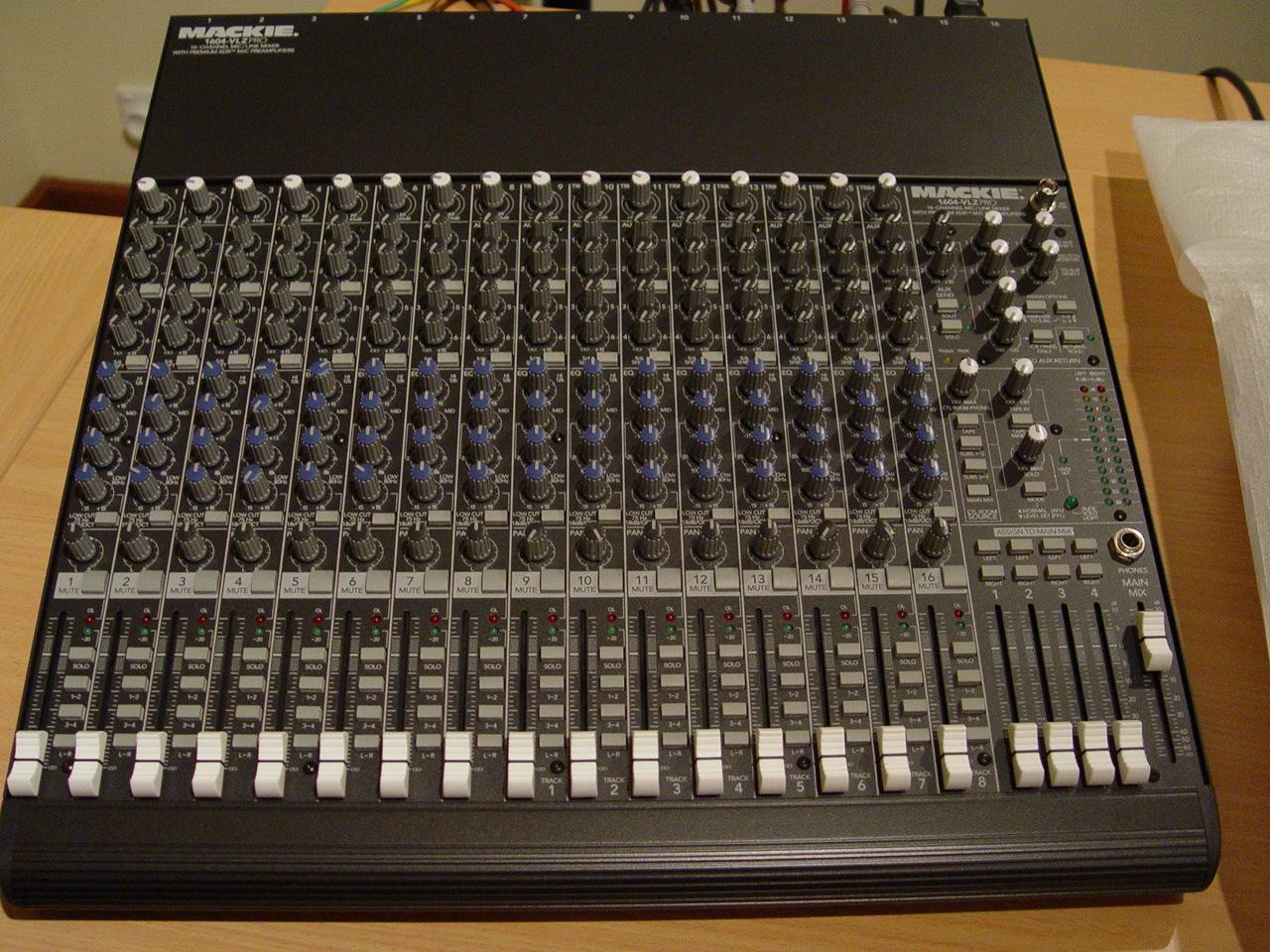 Mackie 1604 Vlz : mackie 1604 vlz pro image 349848 audiofanzine ~ Hamham.info Haus und Dekorationen