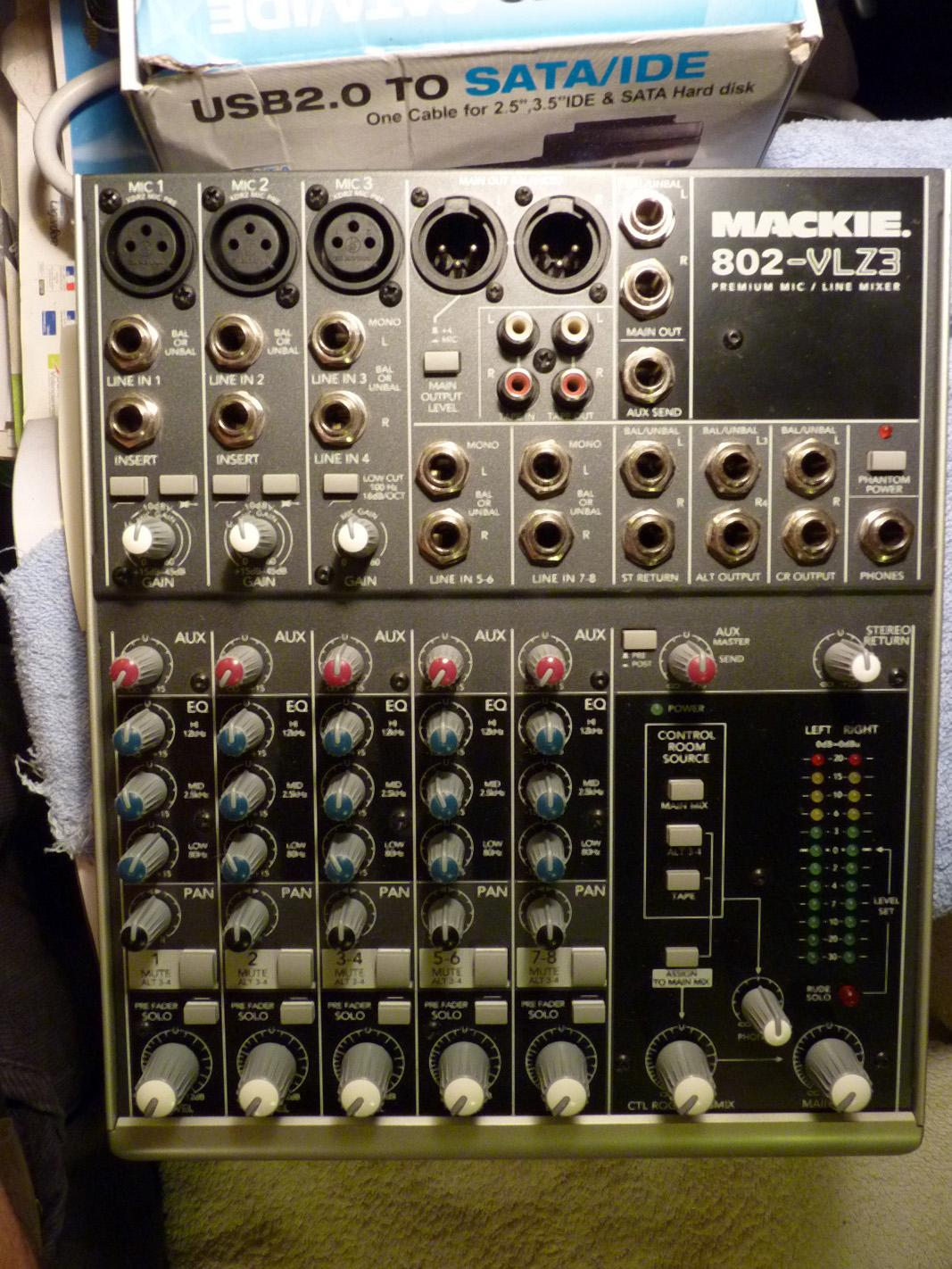 Mackie 802 VLZ3 Image 358156 Audiofanzine