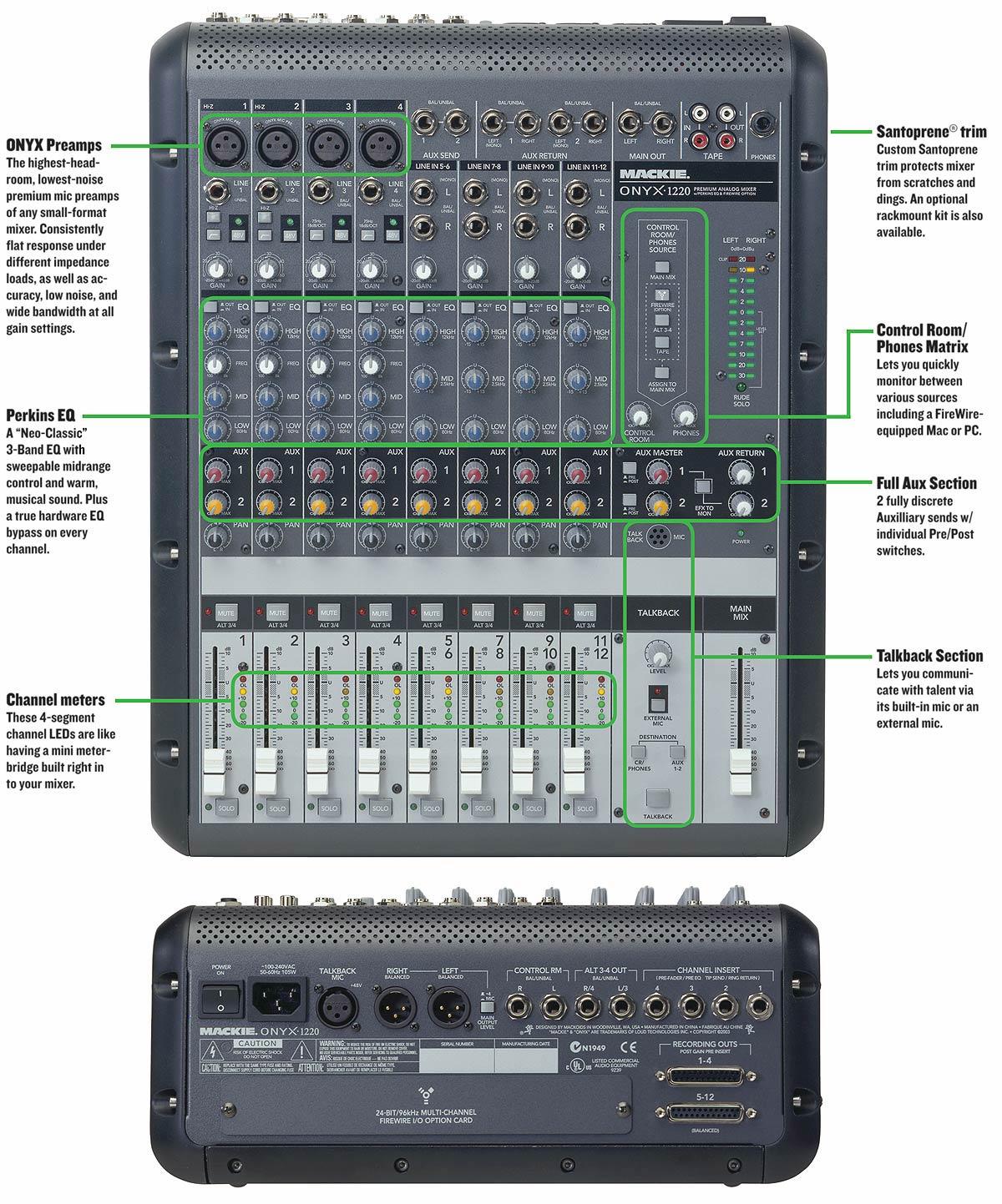 Manual De Consola Yamaha Mg