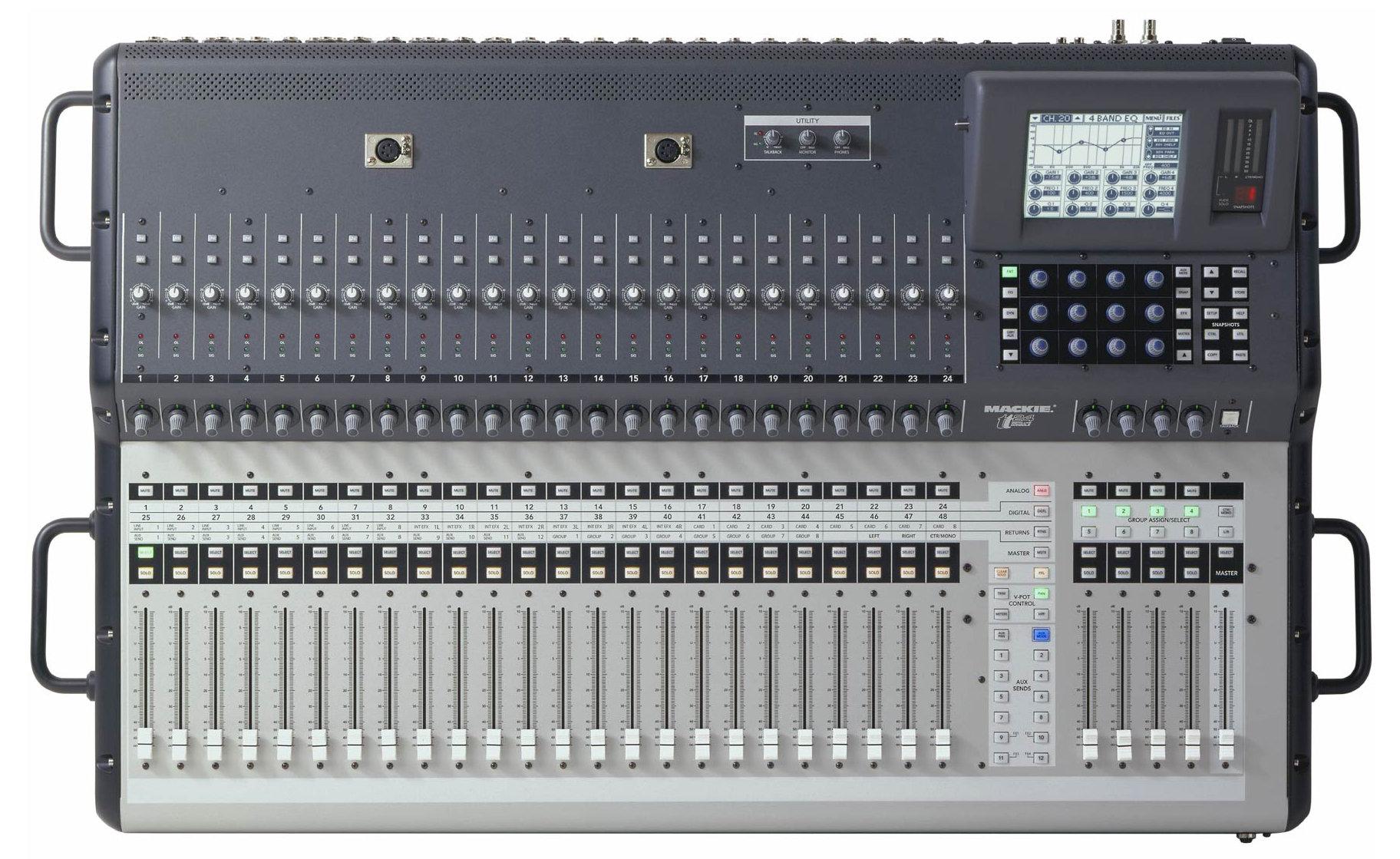 table de mixage mackie tt24 (poitou-charentes) - audiofanzine