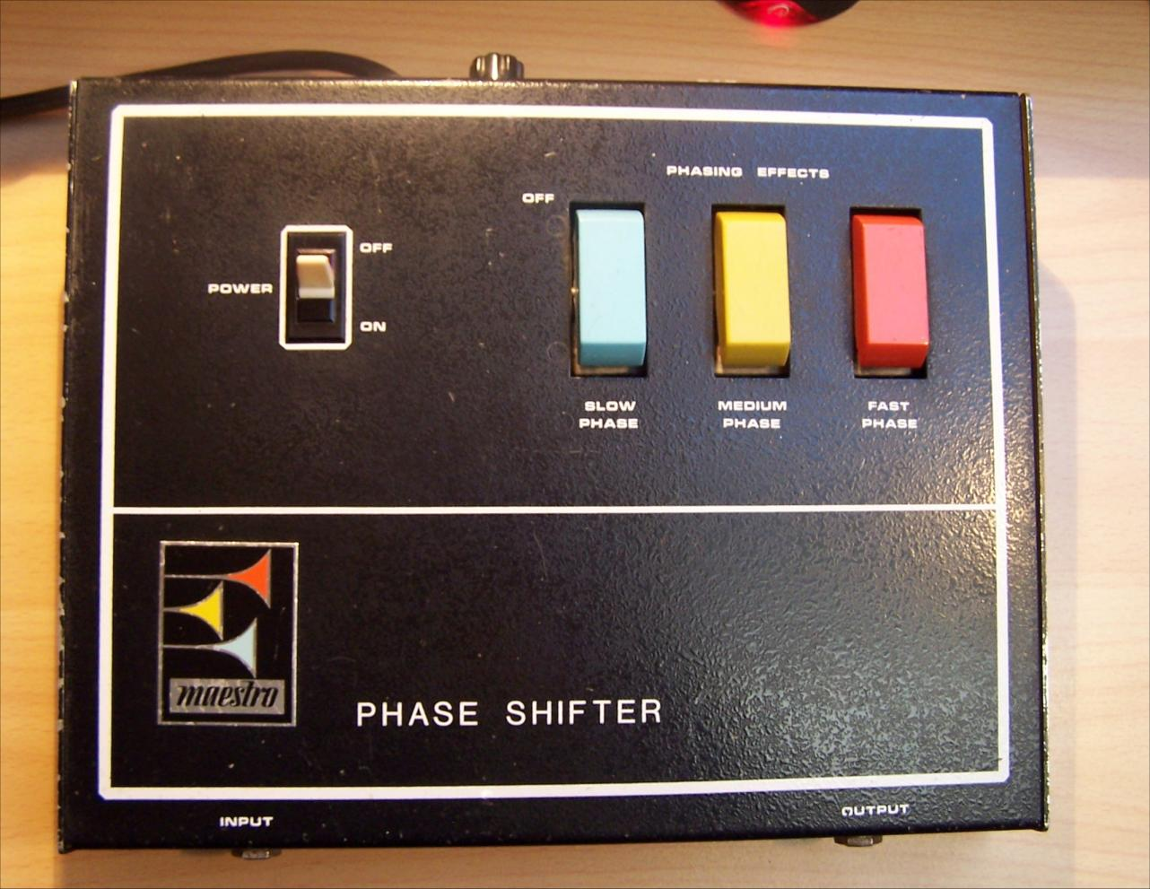 Maestro Phase Shifter Image   254585