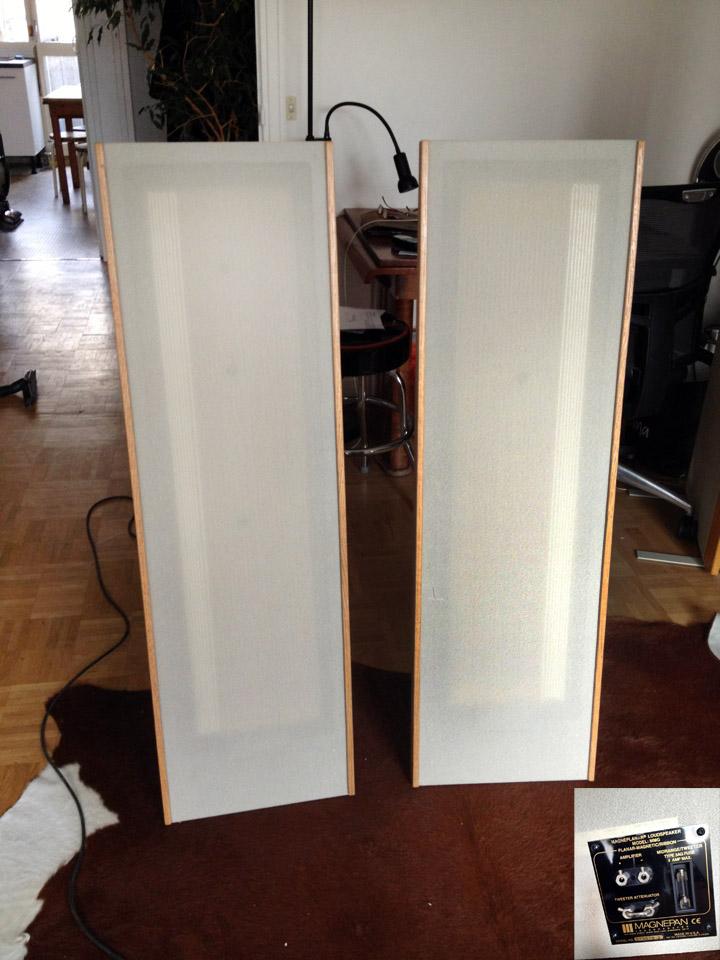 magnepan mg 1 6 qr image 513908 audiofanzine rh en audiofanzine com Magnepan 1.7 Magnepan 1 6QR