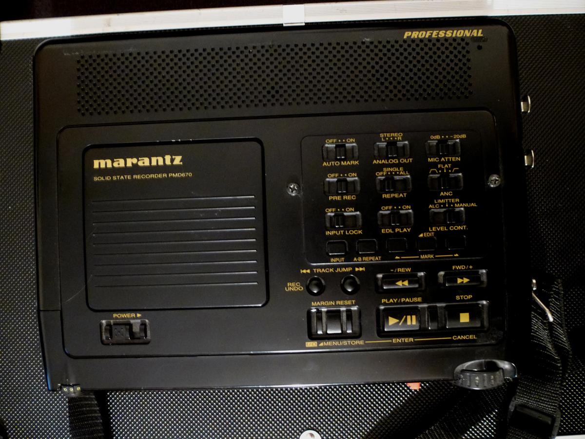 marantz professional pmd670 image 562268 audiofanzine rh en audiofanzine com Marantz PMD Marantz PMD670 Fix