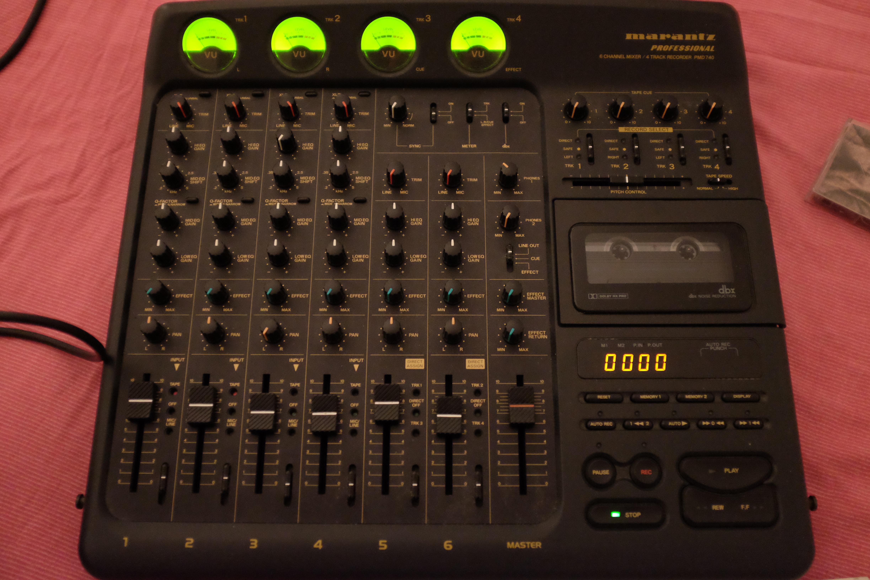 Pmd740 marantz professional pmd740 audiofanzine - Console analogique occasion ...