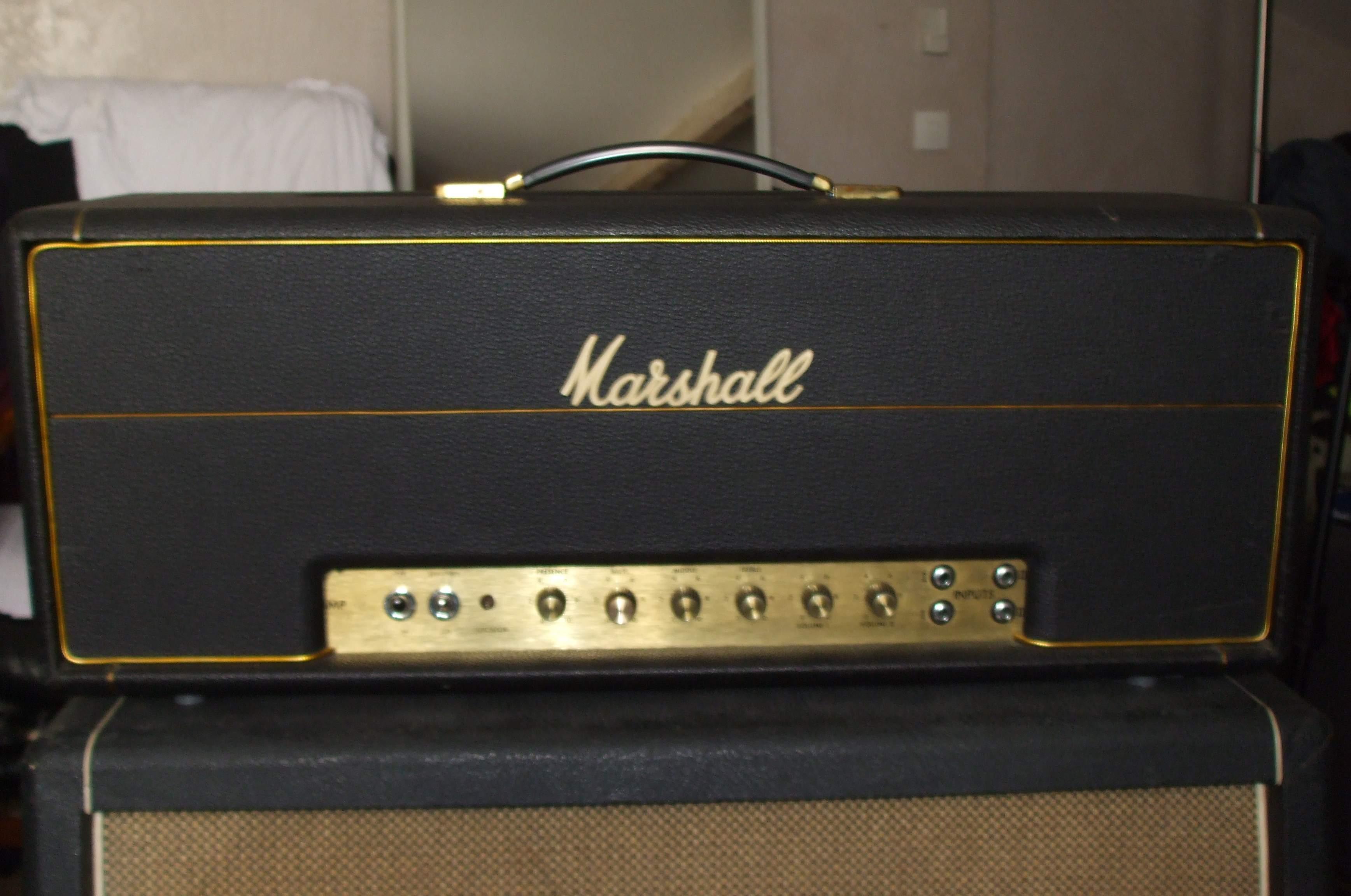 achat marshall 1959 jmp super bass d 39 occasion audiofanzine. Black Bedroom Furniture Sets. Home Design Ideas
