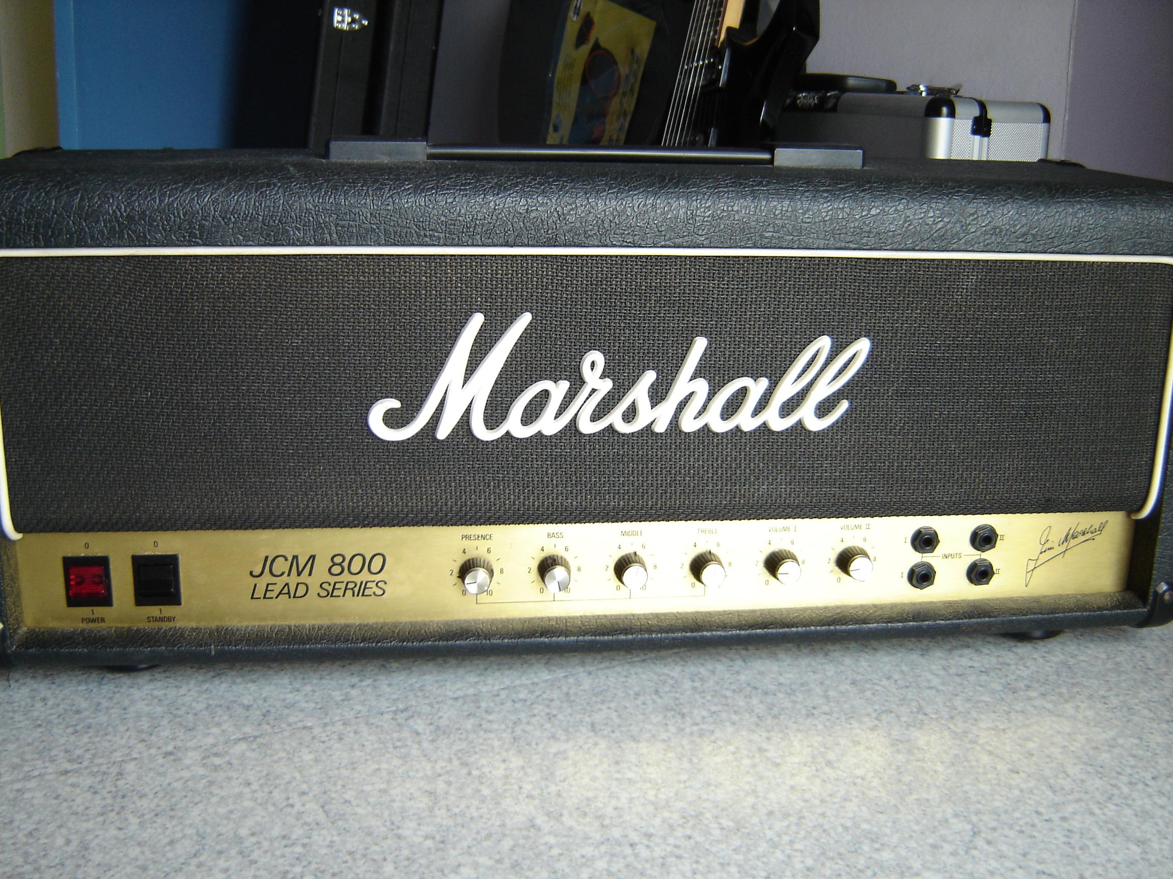 marshall 1987 jcm800 lead 1981 1989 image 231614 audiofanzine. Black Bedroom Furniture Sets. Home Design Ideas
