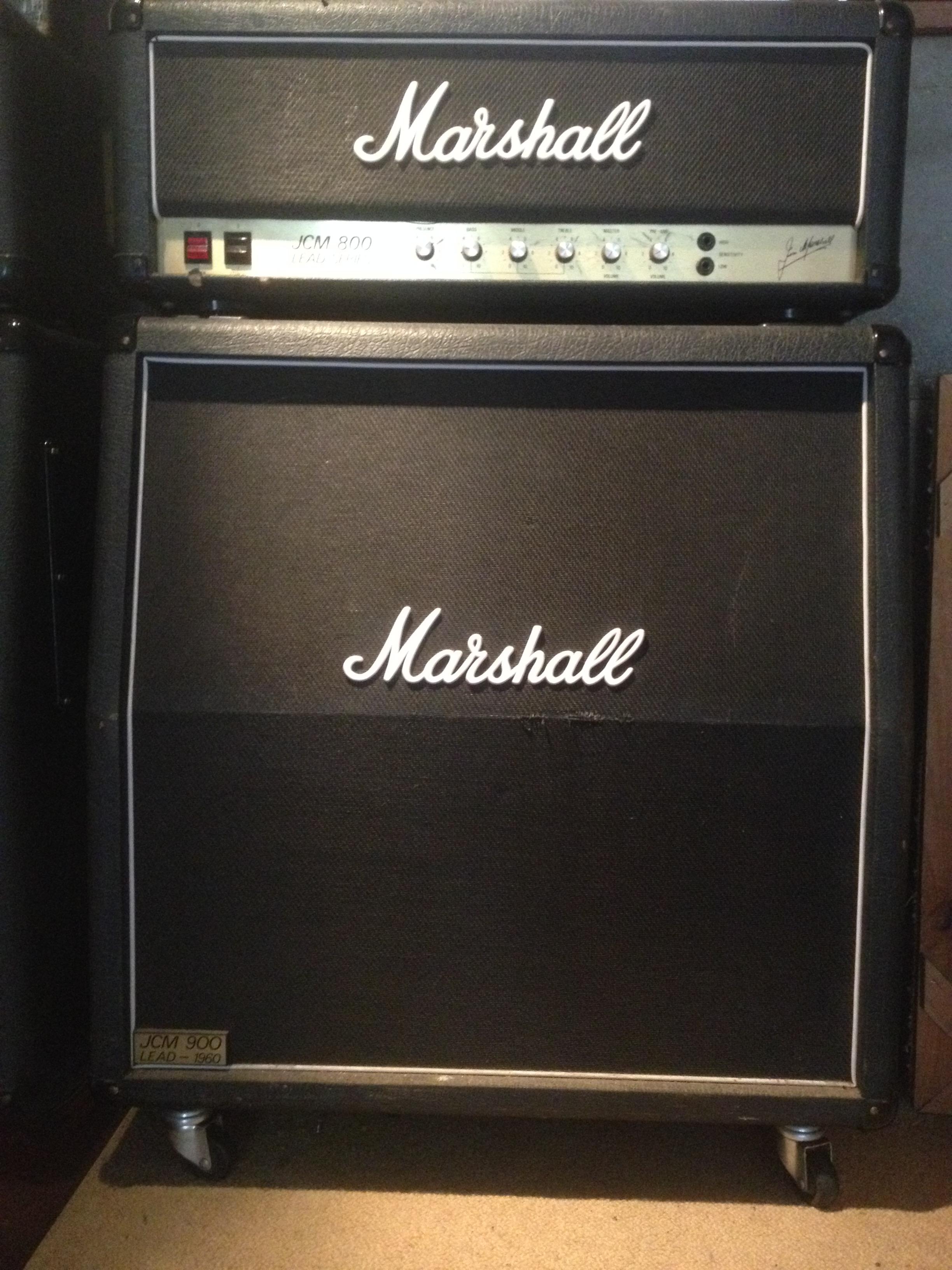marshall 2203 jcm800 master volume lead 100w bafle jcm. Black Bedroom Furniture Sets. Home Design Ideas