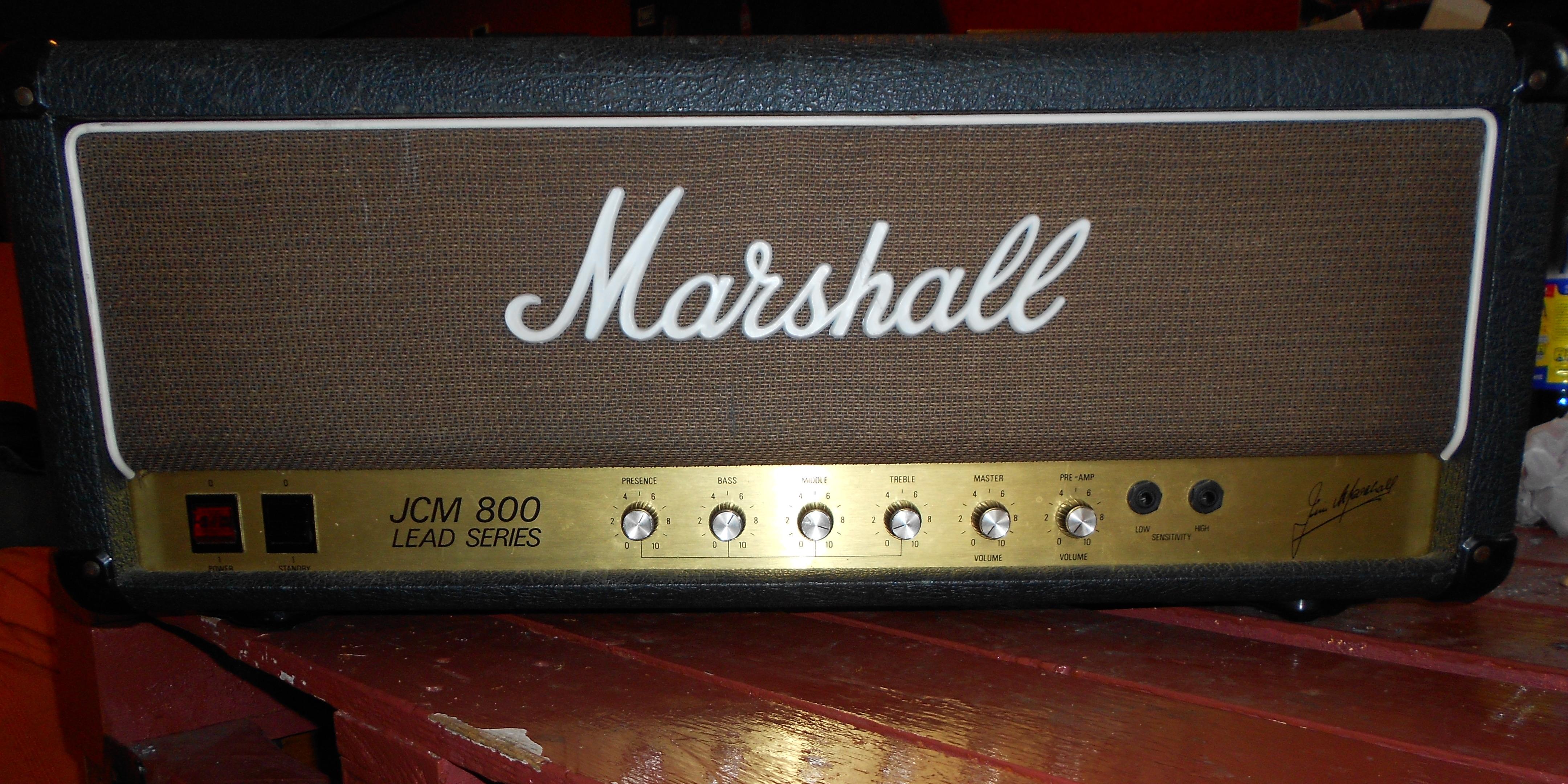 marshall 2204 jcm800 master volume lead 1981 1989 image 488903 audiofanzine. Black Bedroom Furniture Sets. Home Design Ideas