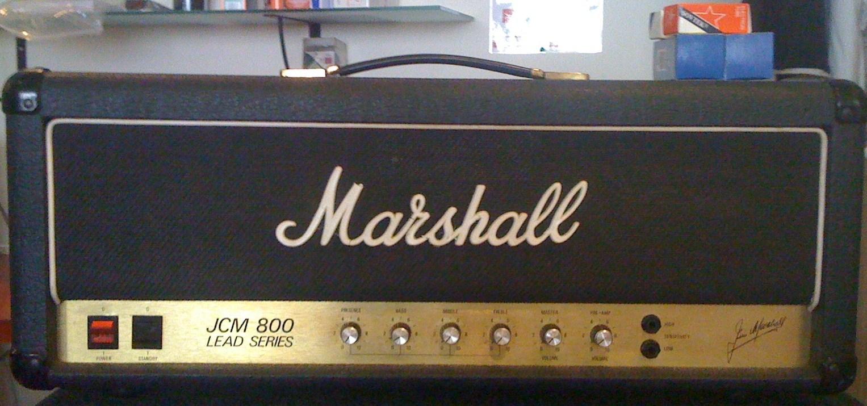 marshall 2204 jcm800 master volume lead 1981 1989 image 77005 audiofanzine. Black Bedroom Furniture Sets. Home Design Ideas
